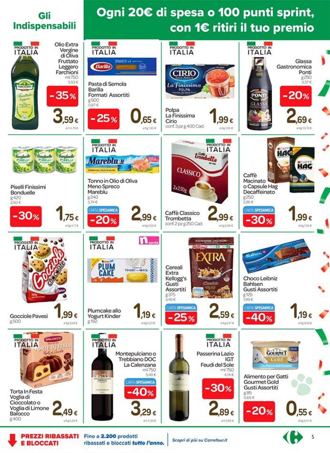Volantino Carrefour - Offerte 30/10-09/11/2020 (Pagina 5)