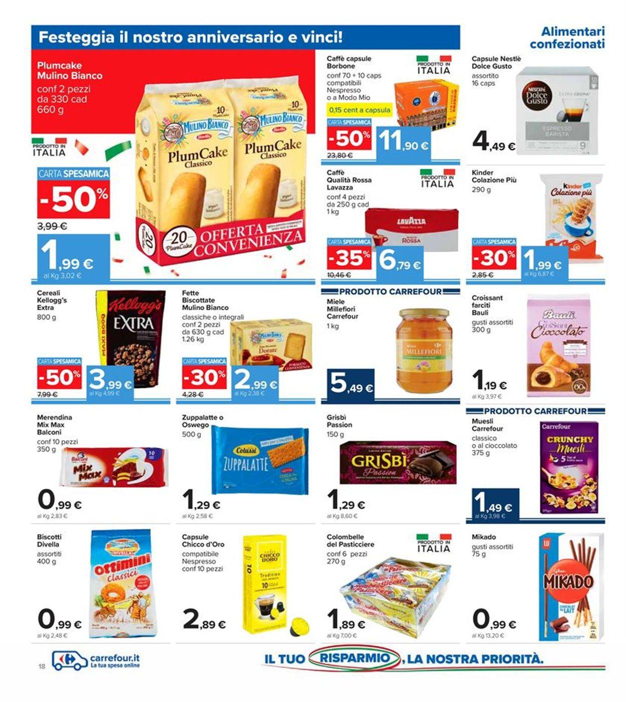 Volantino Carrefour - Offerte 30/10-08/11/2020 (Pagina 18)