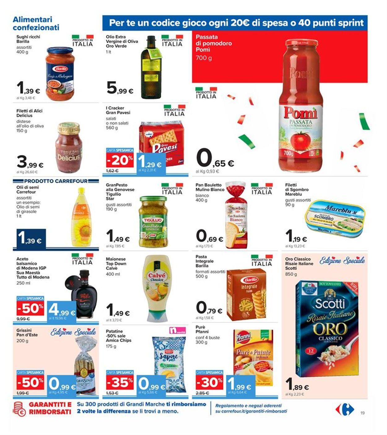 Volantino Carrefour - Offerte 30/10-08/11/2020 (Pagina 19)