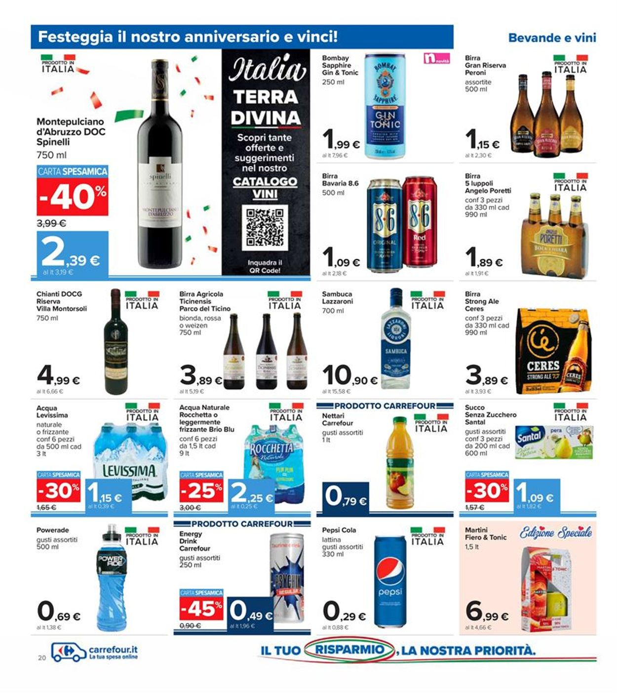 Volantino Carrefour - Offerte 30/10-08/11/2020 (Pagina 20)