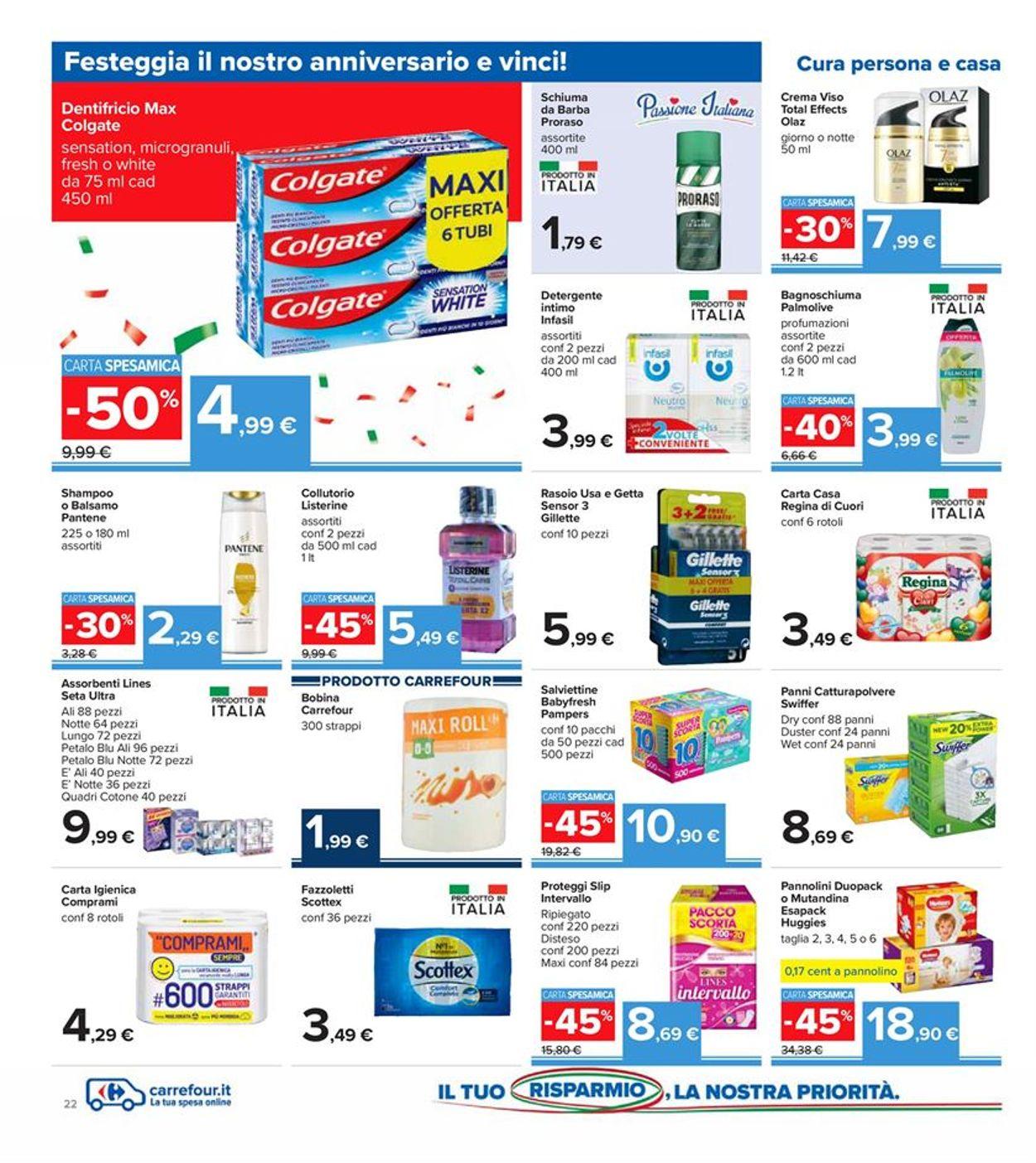 Volantino Carrefour - Offerte 30/10-08/11/2020 (Pagina 22)