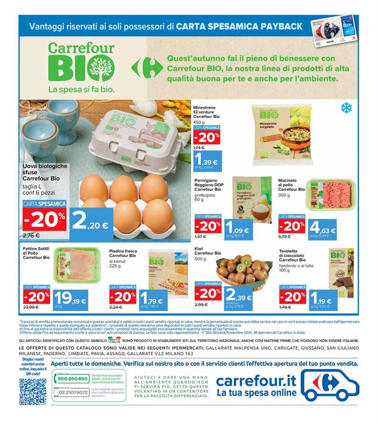 Volantino Carrefour - Offerte 30/10-08/11/2020 (Pagina 33)