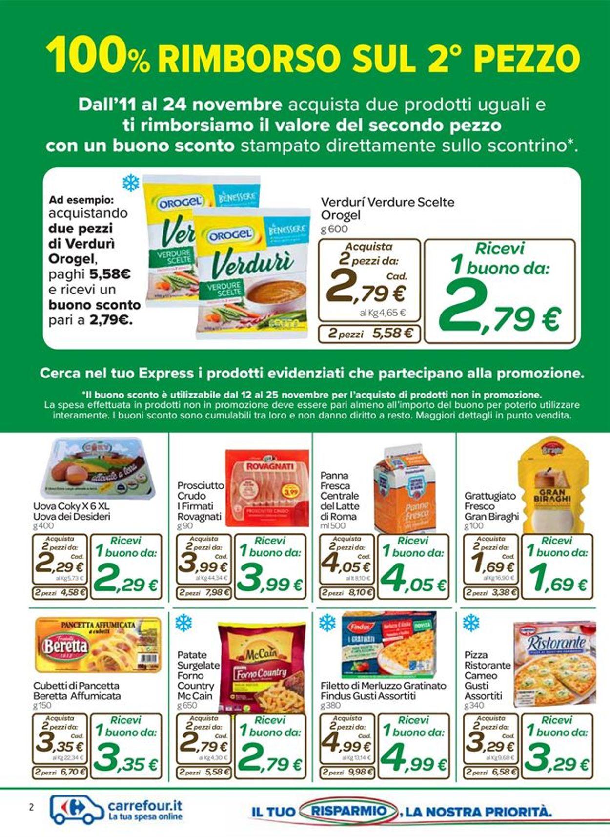 Volantino Carrefour - Offerte 11/11-24/11/2020 (Pagina 2)