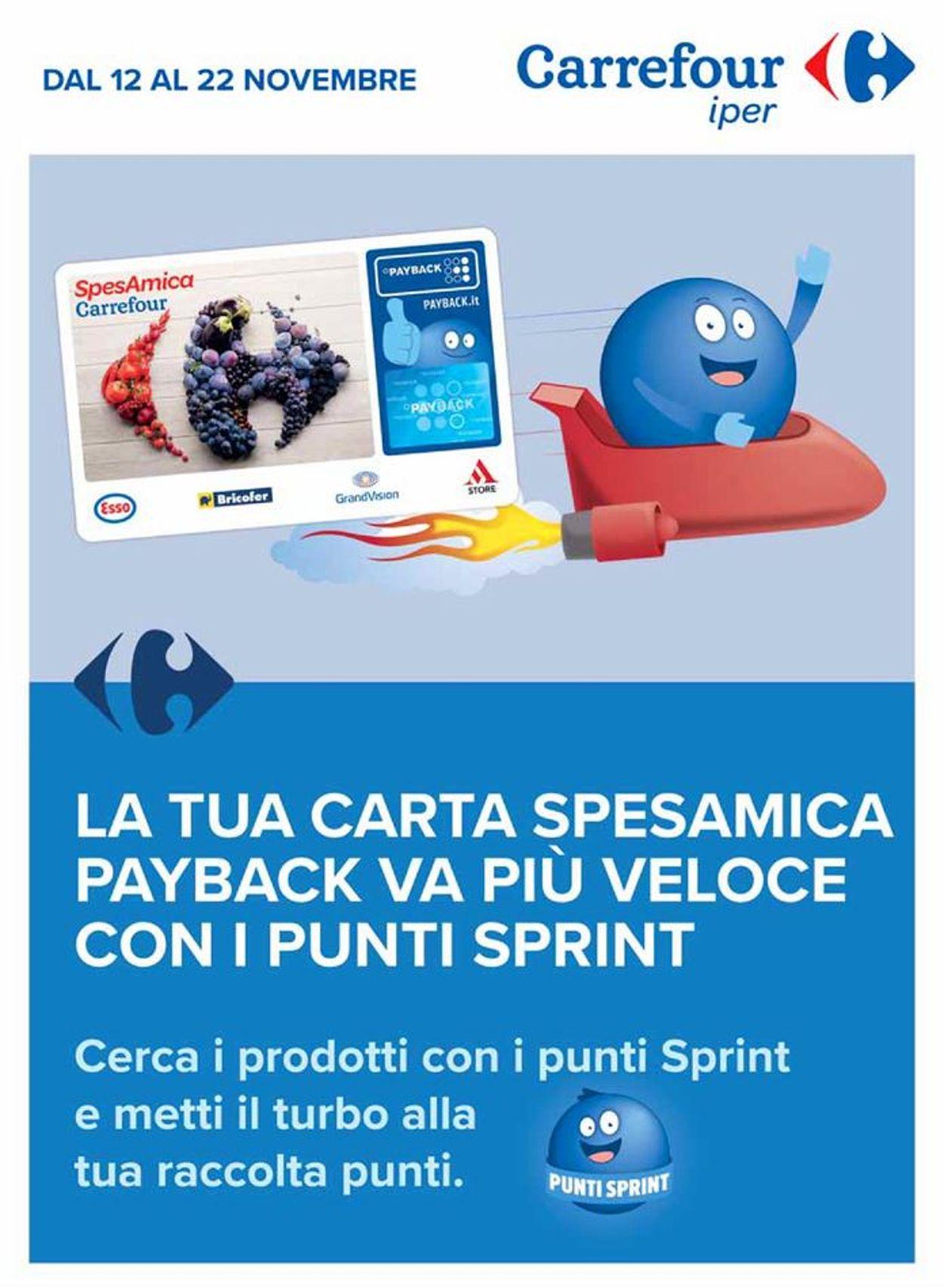 Volantino Carrefour - Offerte 12/11-22/11/2020