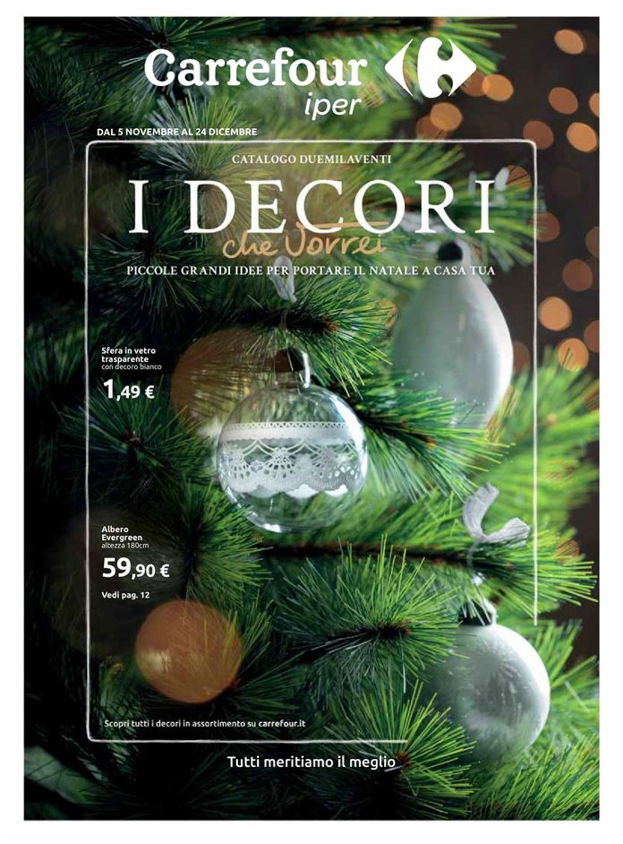 Volantino Carrefour - Natale 2020 - Offerte 09/11-24/12/2020