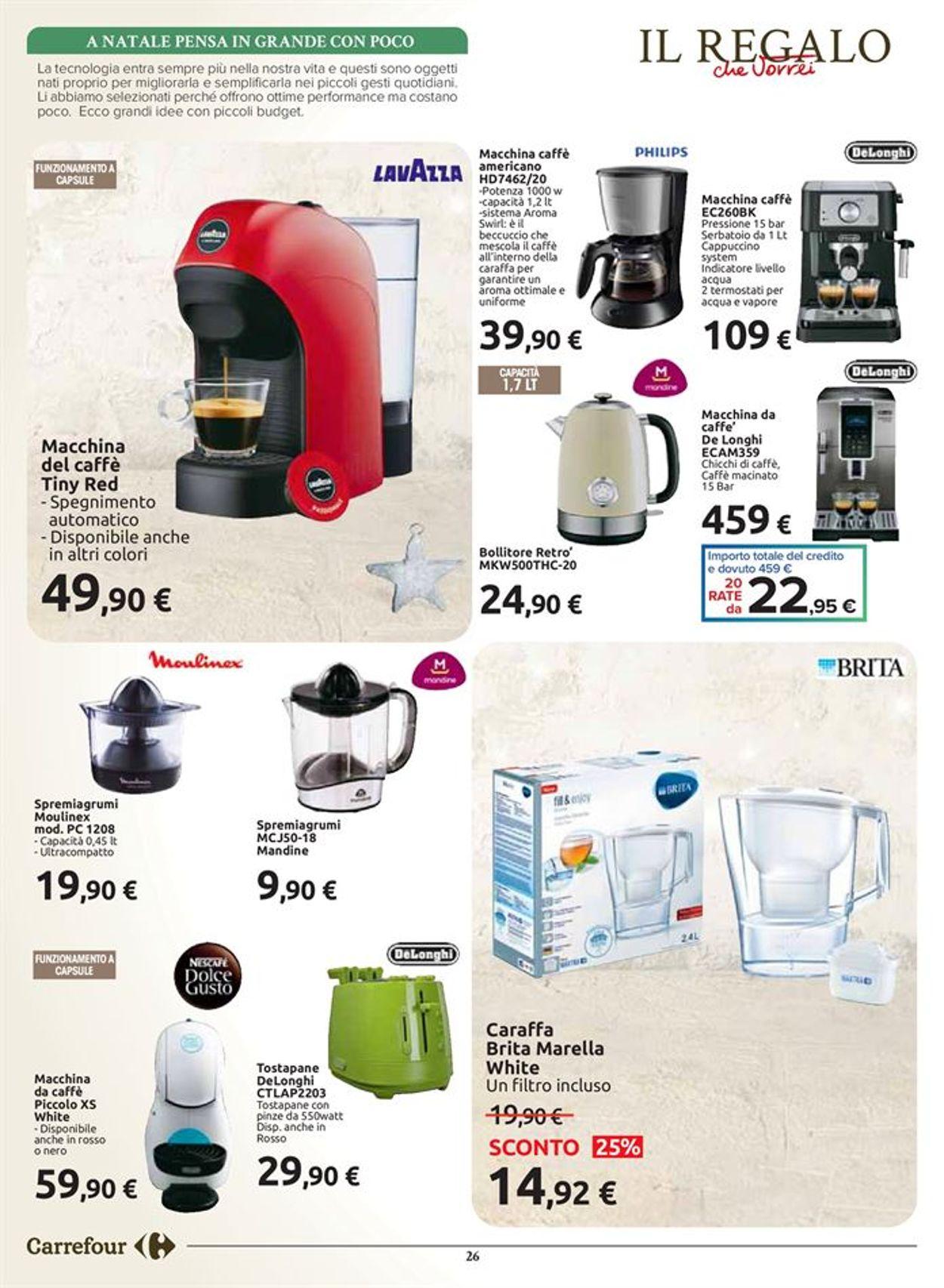 Volantino Carrefour Natale 2020 - Offerte 20/11-24/12/2020 (Pagina 26)