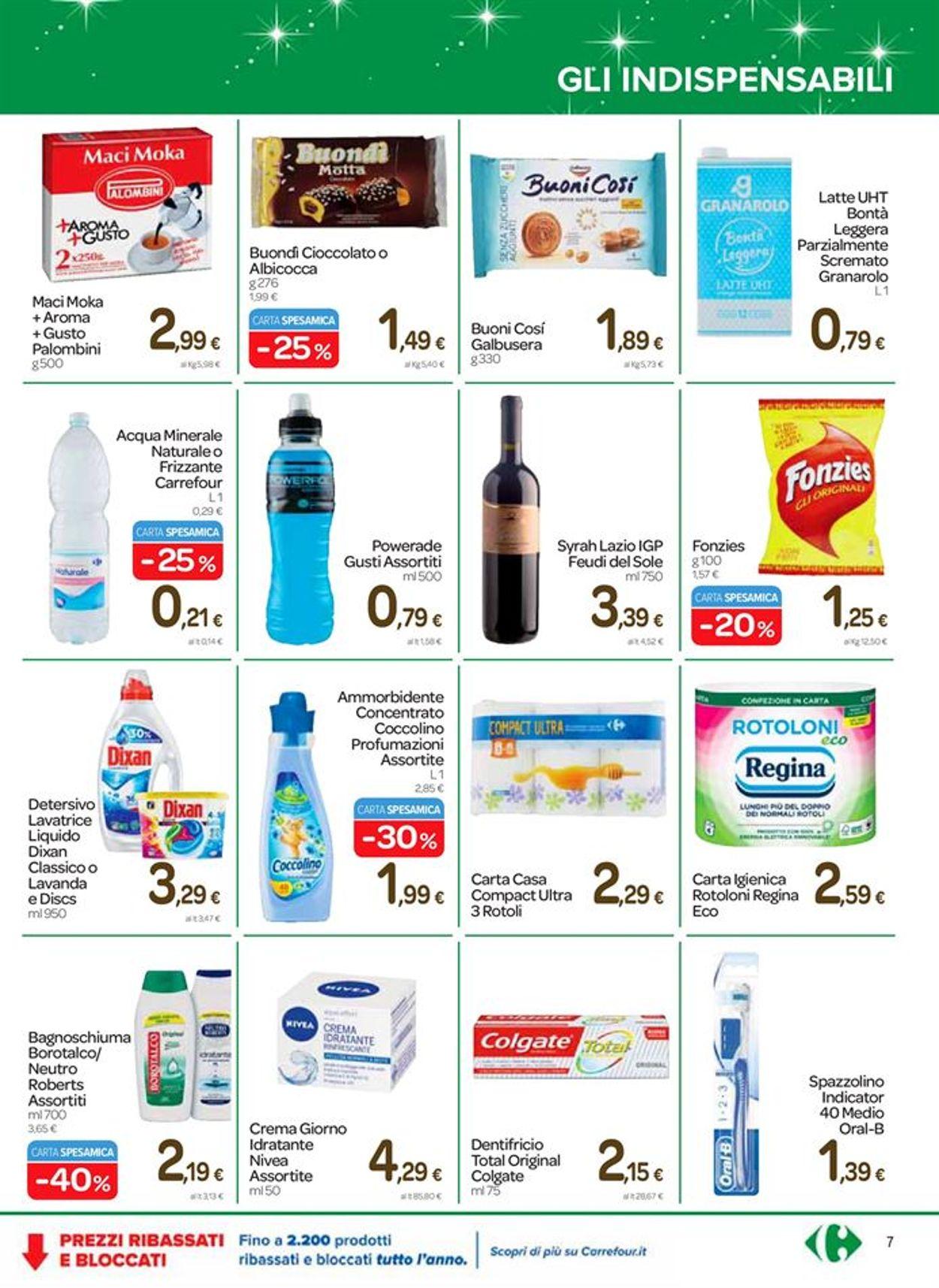 Volantino Carrefour - Natale 2020 - Offerte 26/11-08/12/2020 (Pagina 7)