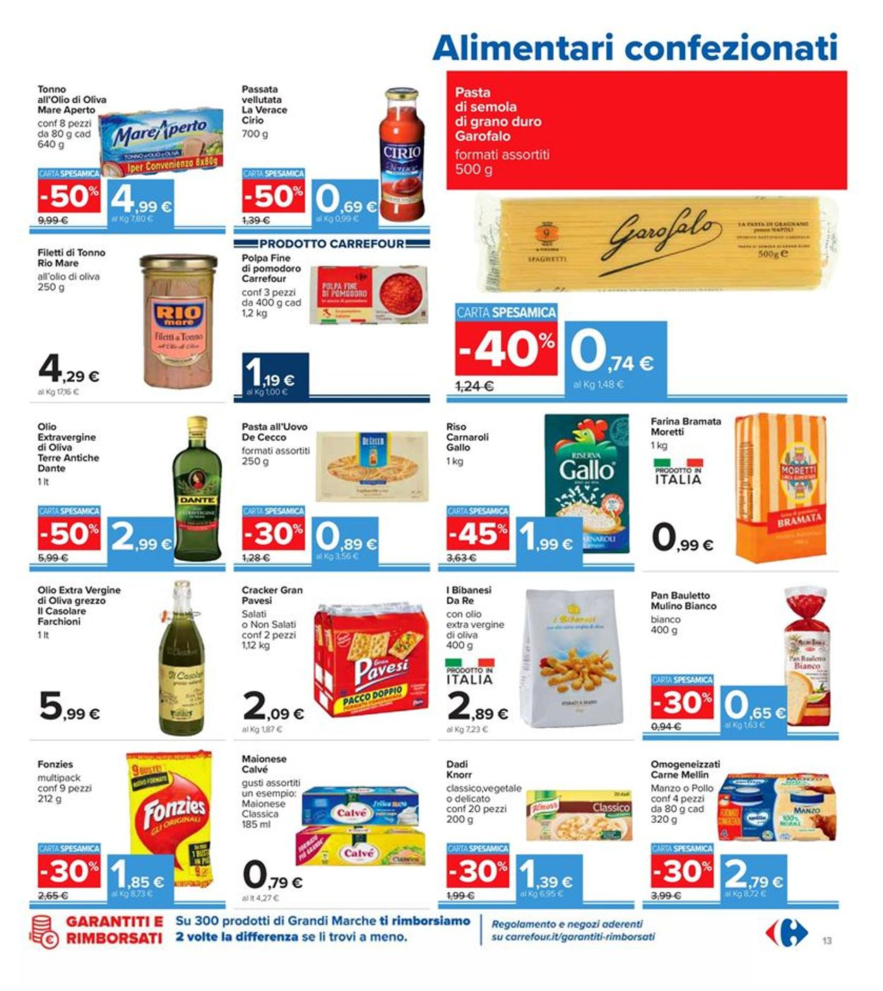 Volantino Carrefour - Offerte 01/12-13/12/2020 (Pagina 13)