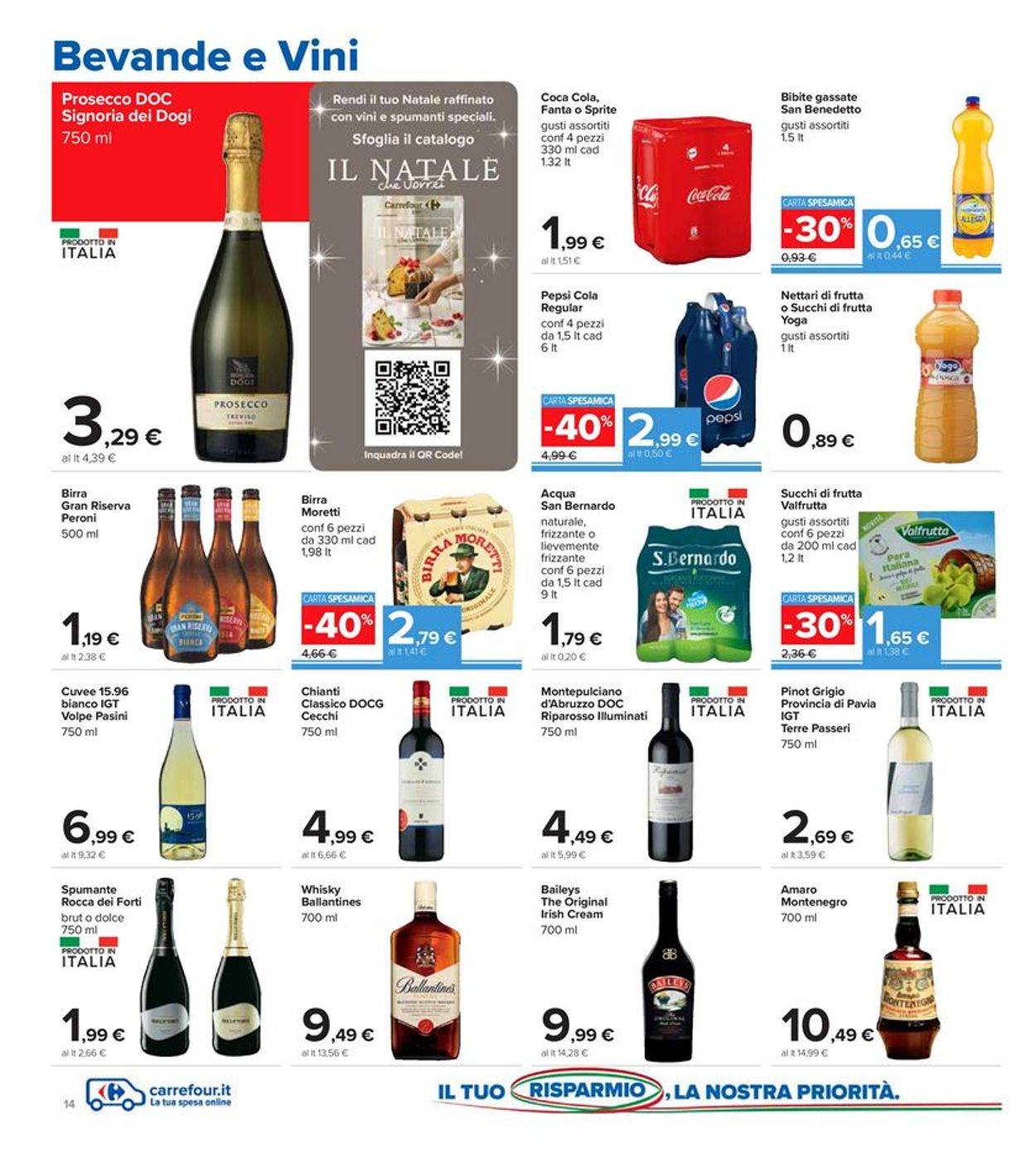 Volantino Carrefour - Offerte 01/12-13/12/2020 (Pagina 14)