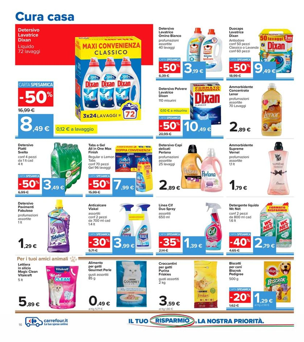 Volantino Carrefour - Offerte 01/12-13/12/2020 (Pagina 16)