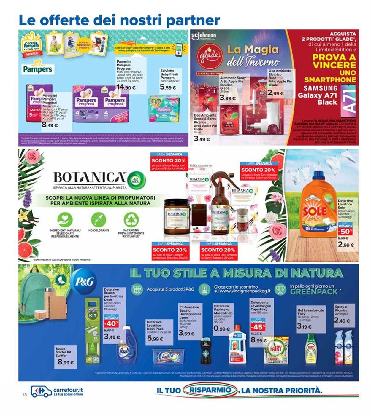 Volantino Carrefour - Offerte 01/12-13/12/2020 (Pagina 18)