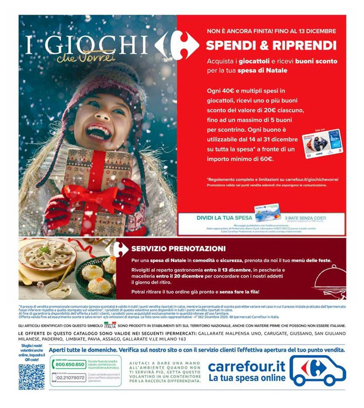 Volantino Carrefour - Offerte 01/12-13/12/2020 (Pagina 38)