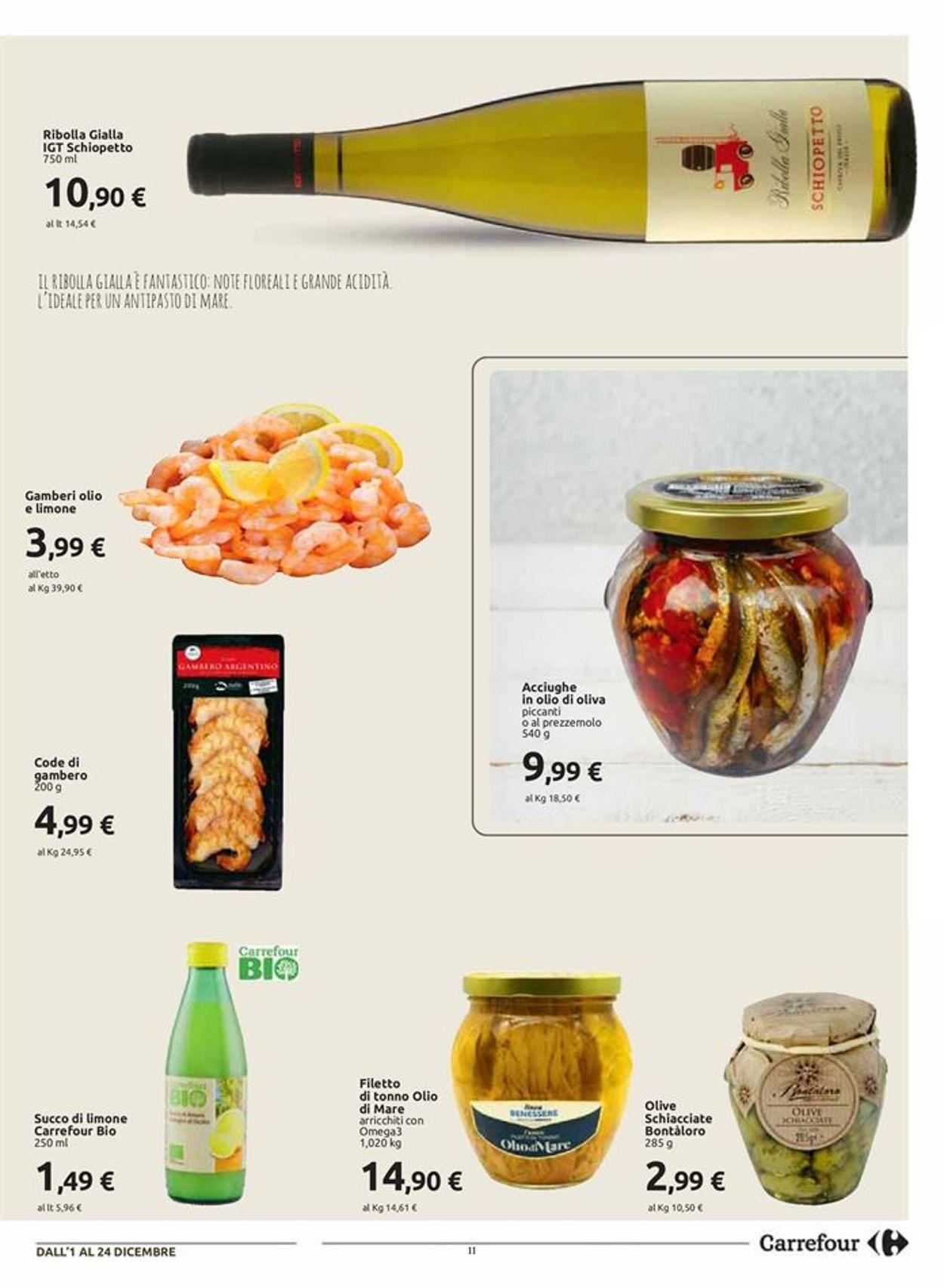 Volantino Carrefour Natale 2020 - Offerte 01/12-24/12/2020 (Pagina 11)