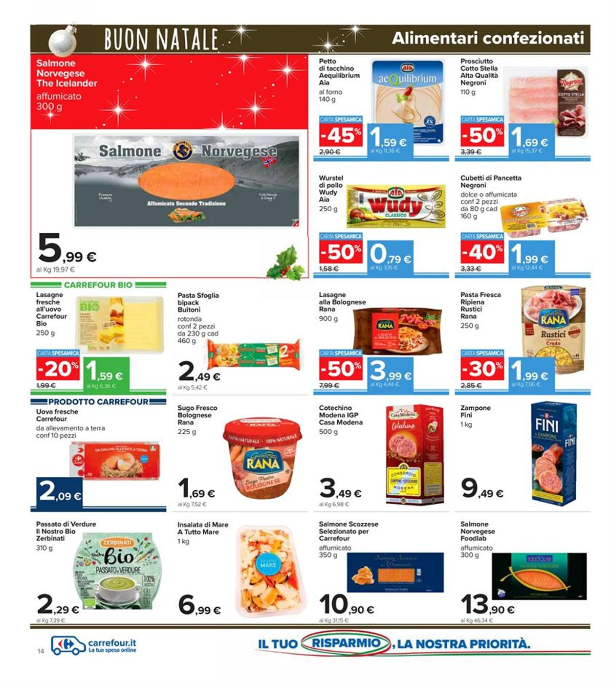 Volantino Carrefour - Natale 2020 - Offerte 14/12-27/12/2020 (Pagina 14)