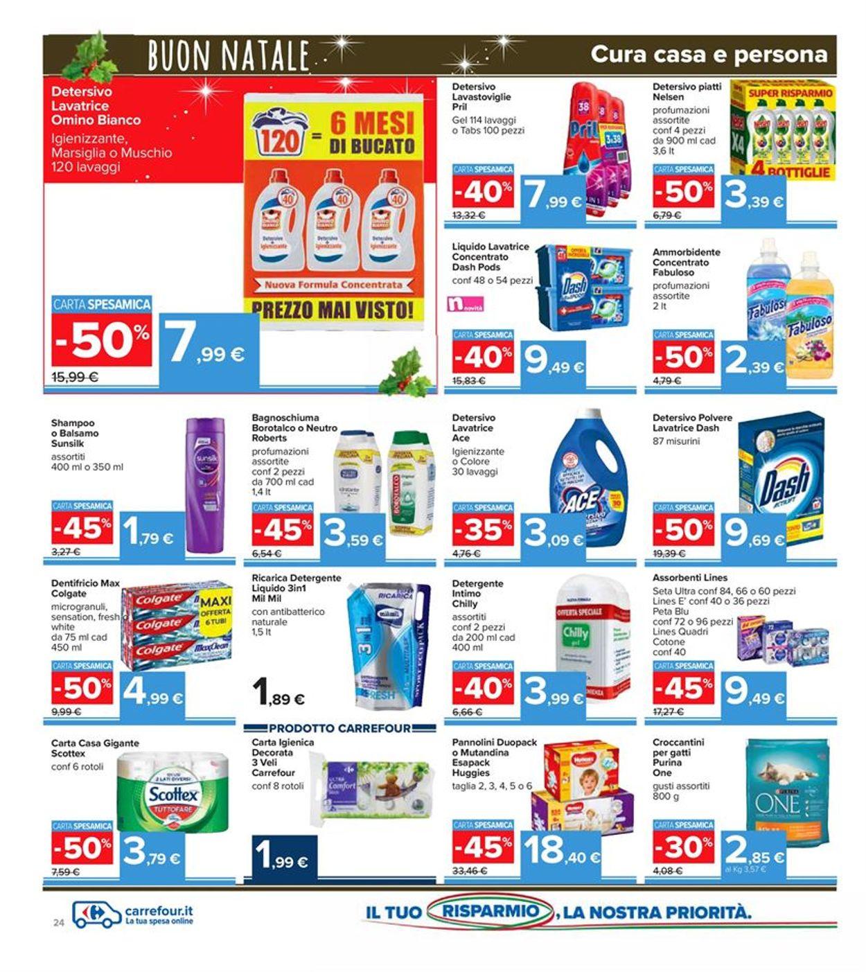 Volantino Carrefour - Natale 2020 - Offerte 14/12-27/12/2020 (Pagina 24)