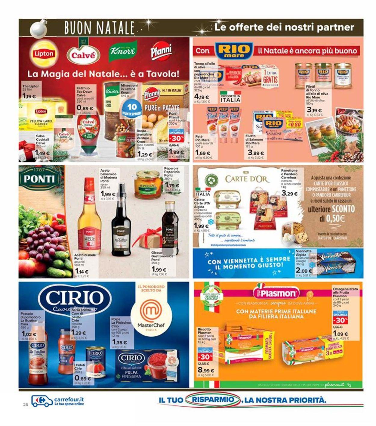Volantino Carrefour - Natale 2020 - Offerte 14/12-27/12/2020 (Pagina 26)