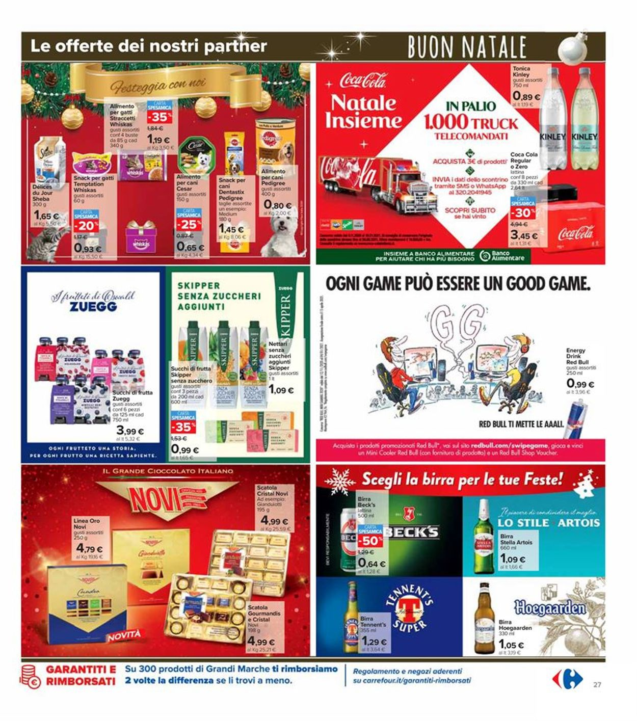 Volantino Carrefour - Natale 2020 - Offerte 14/12-27/12/2020 (Pagina 27)