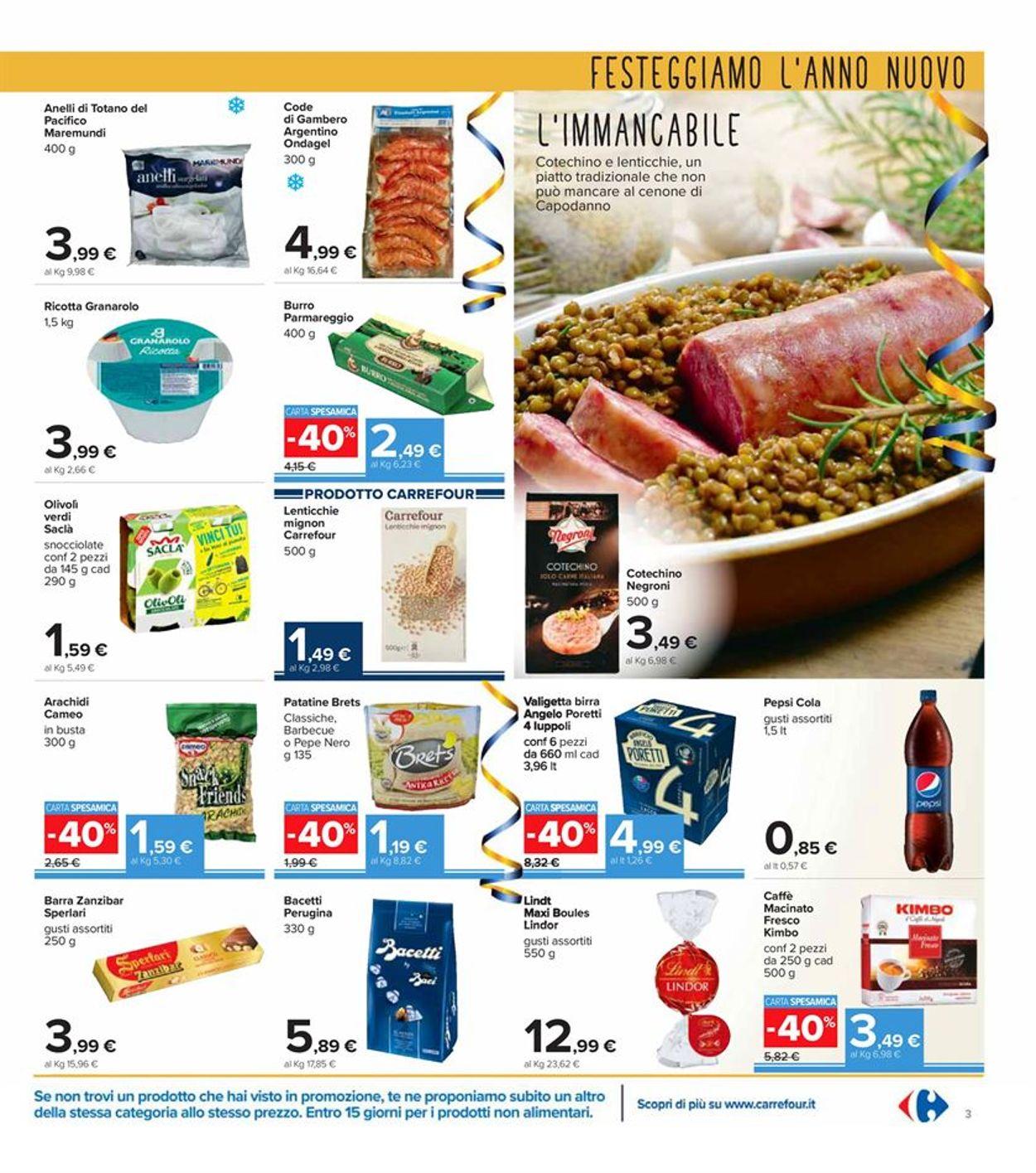 Volantino Carrefour - Offerte 28/12-06/01/2021 (Pagina 3)