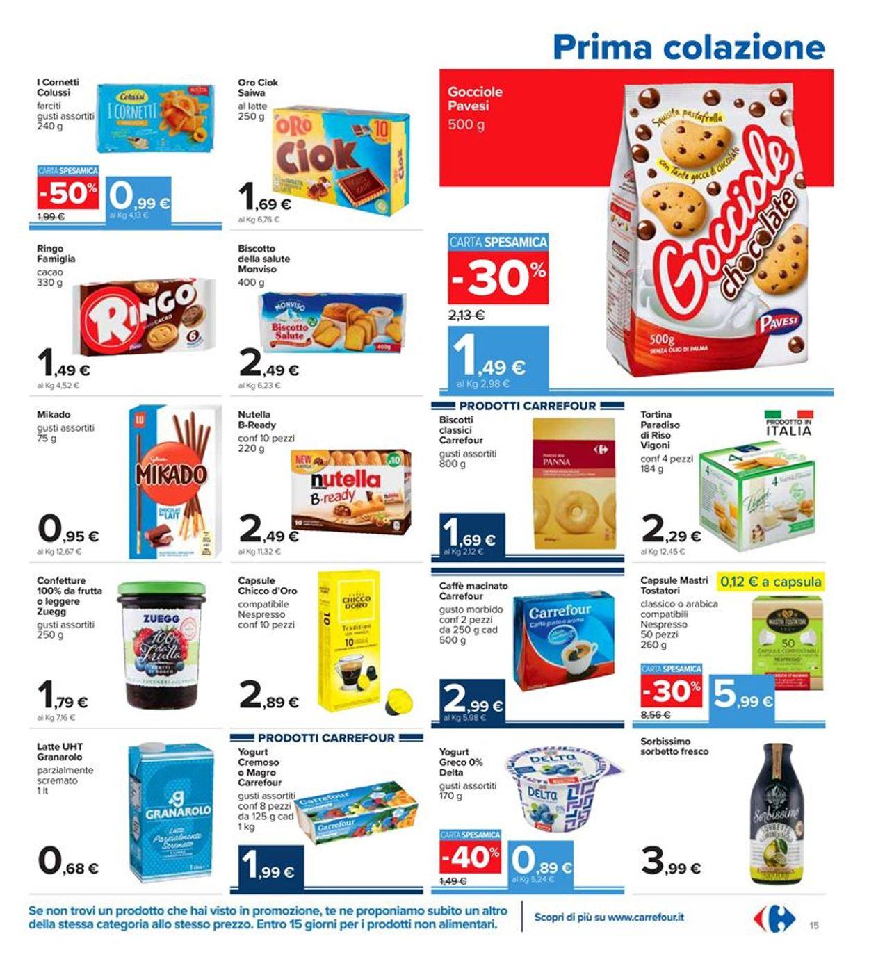 Volantino Carrefour - Offerte 28/12-06/01/2021 (Pagina 15)