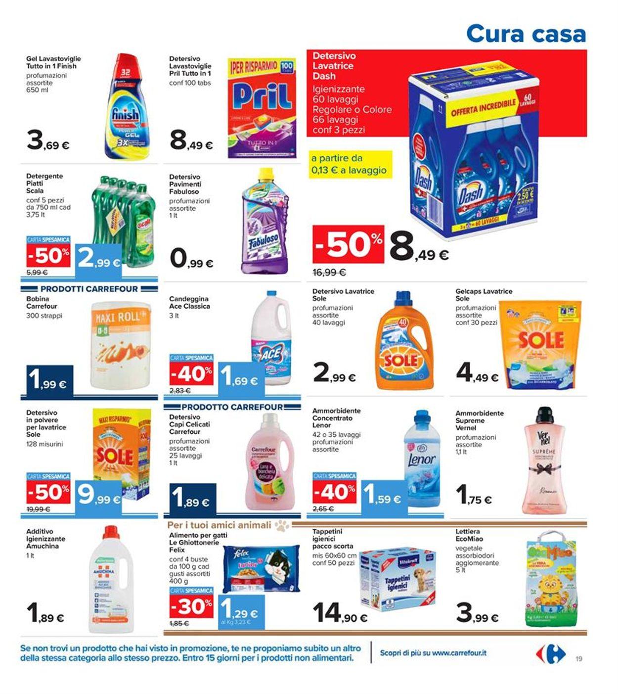 Volantino Carrefour - Offerte 28/12-06/01/2021 (Pagina 19)
