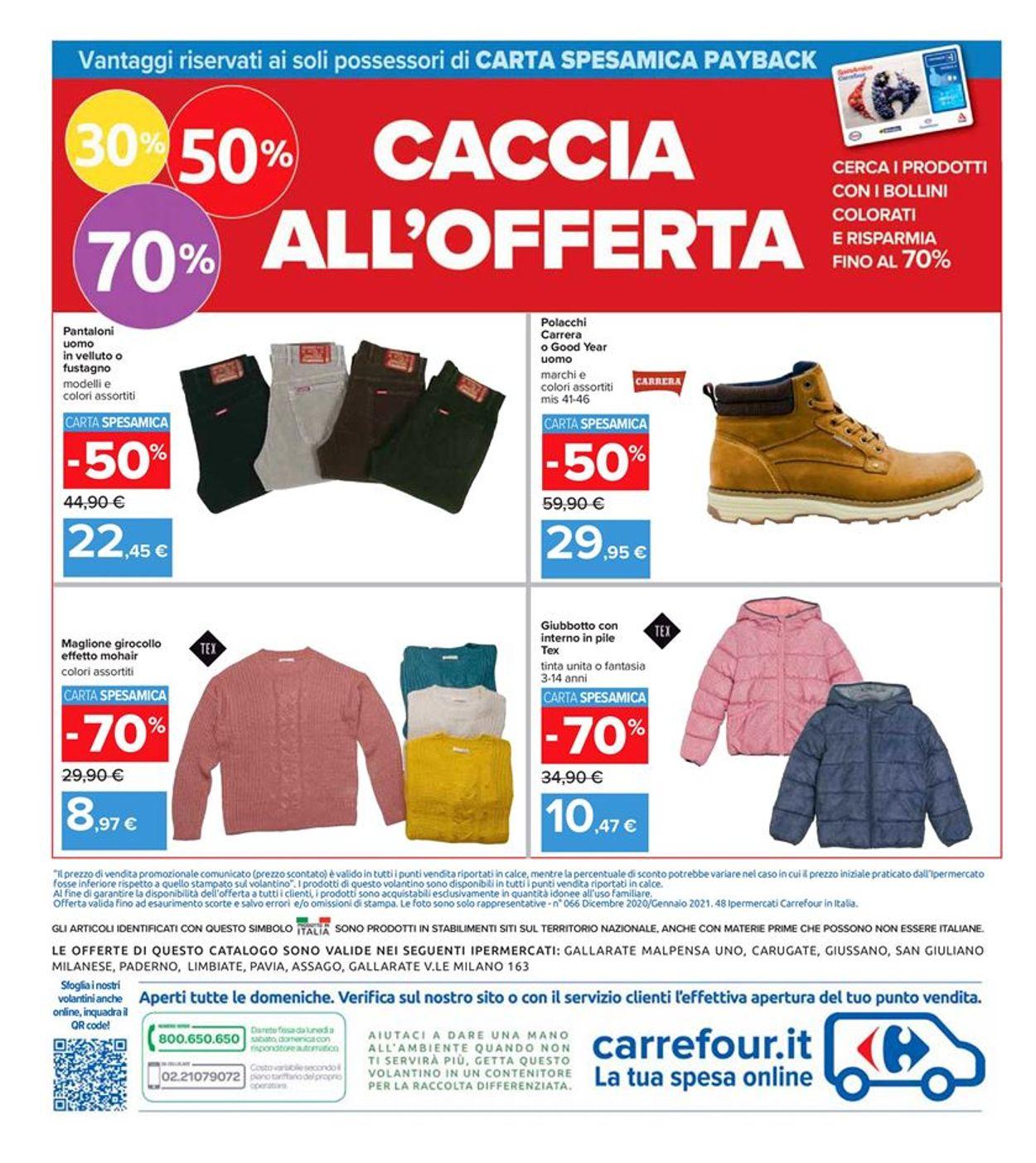 Volantino Carrefour - Offerte 28/12-06/01/2021 (Pagina 28)