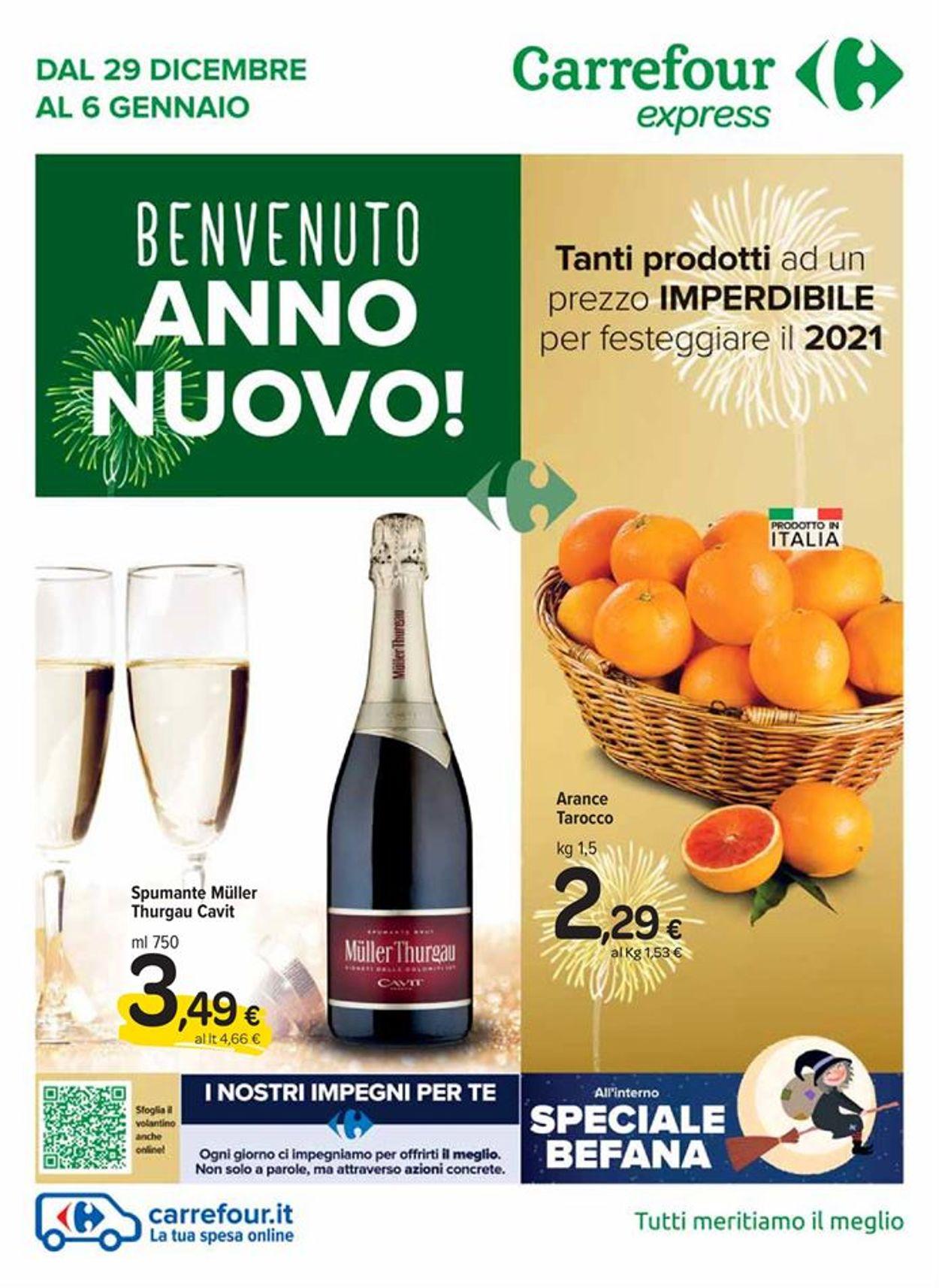 Volantino Carrefour - Offerte 29/12-06/01/2021