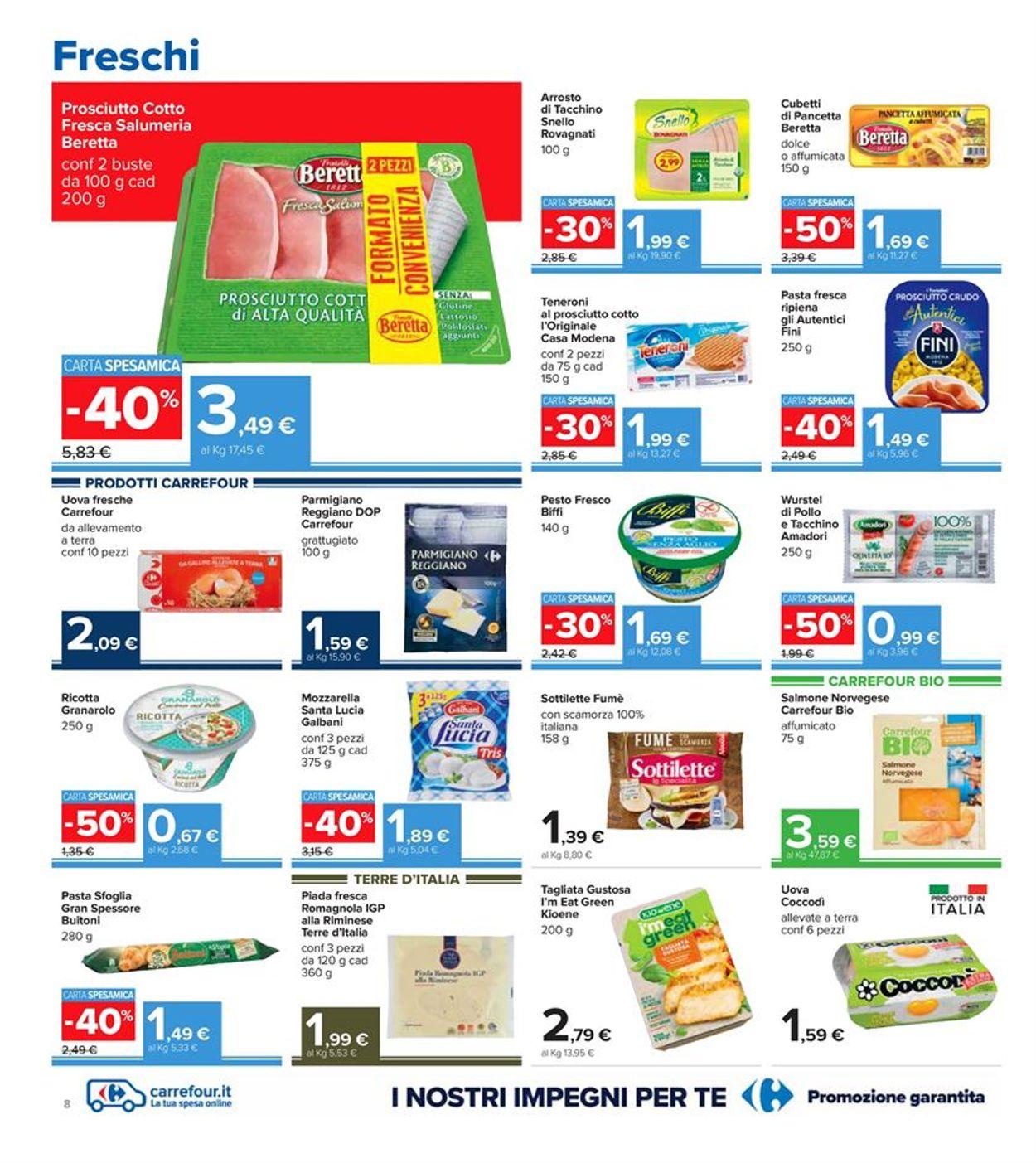 Volantino Carrefour - Offerte 07/01-17/01/2021 (Pagina 8)