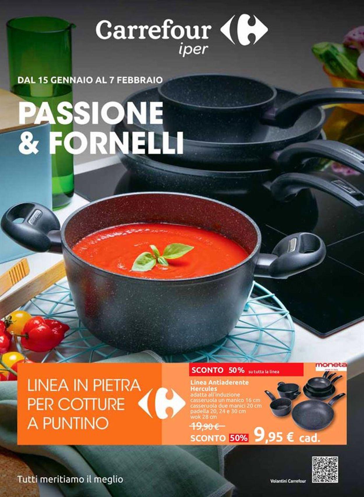 Volantino Carrefour Iper - Offerte 15/01-07/02/2021
