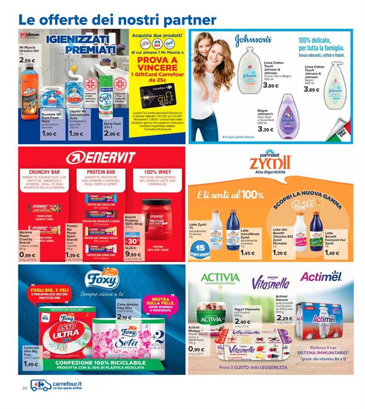Volantino Carrefour - Offerte 18/01-27/01/2021 (Pagina 20)