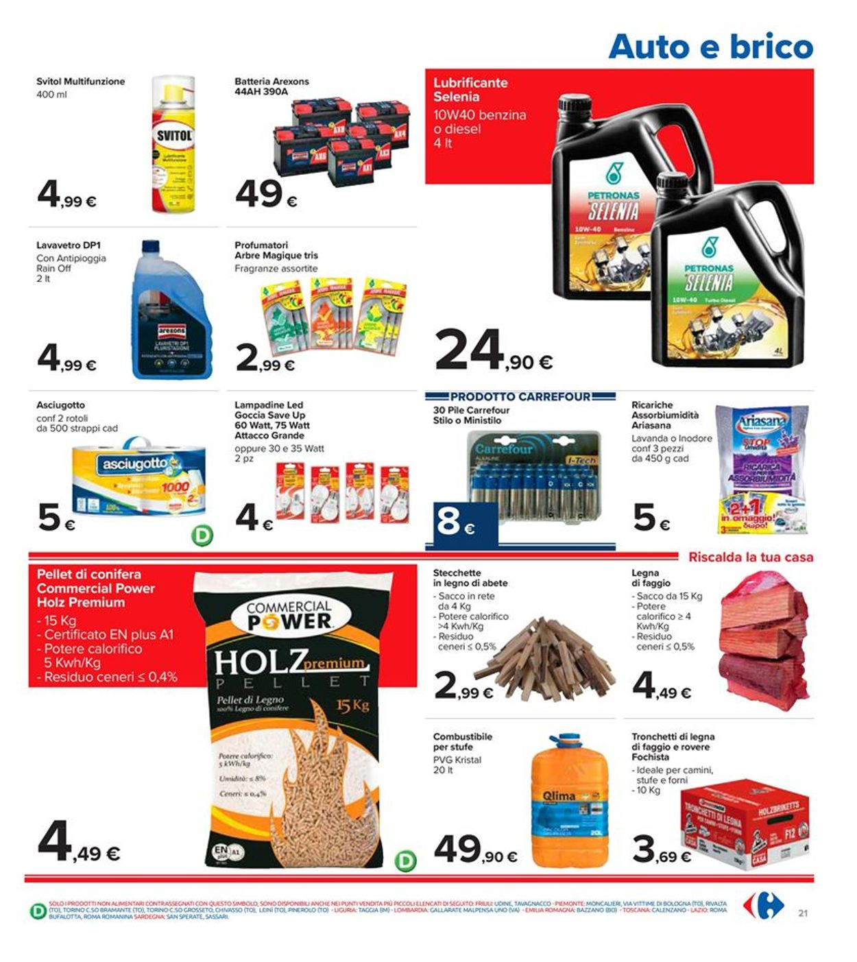 Volantino Carrefour - Offerte 18/01-27/01/2021 (Pagina 21)