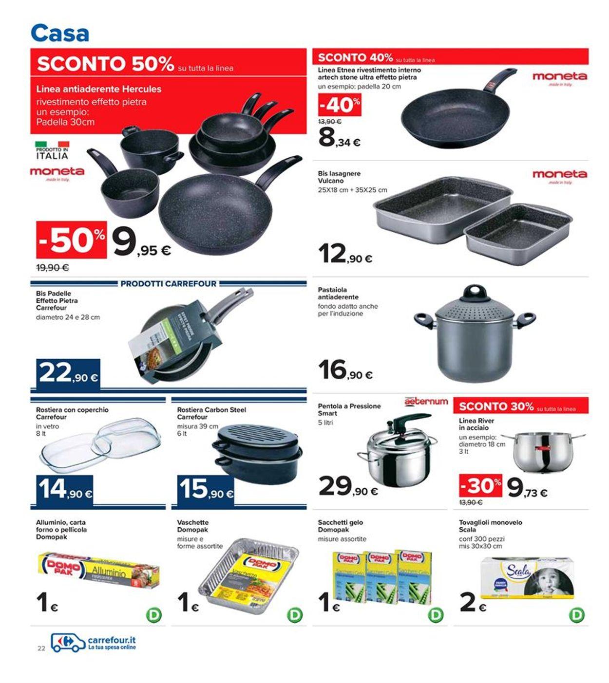 Volantino Carrefour - Offerte 18/01-27/01/2021 (Pagina 22)