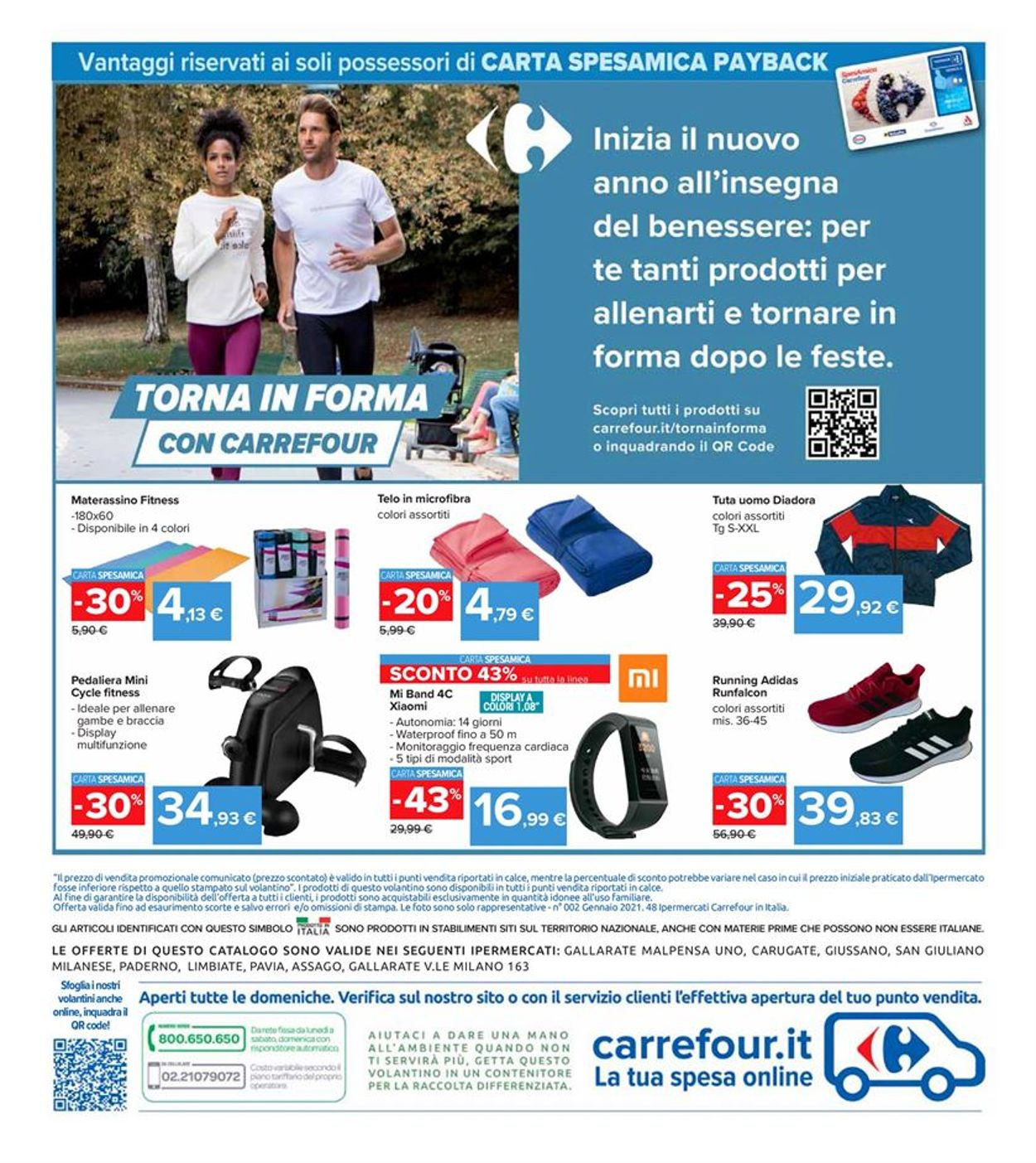 Volantino Carrefour - Offerte 18/01-27/01/2021 (Pagina 28)