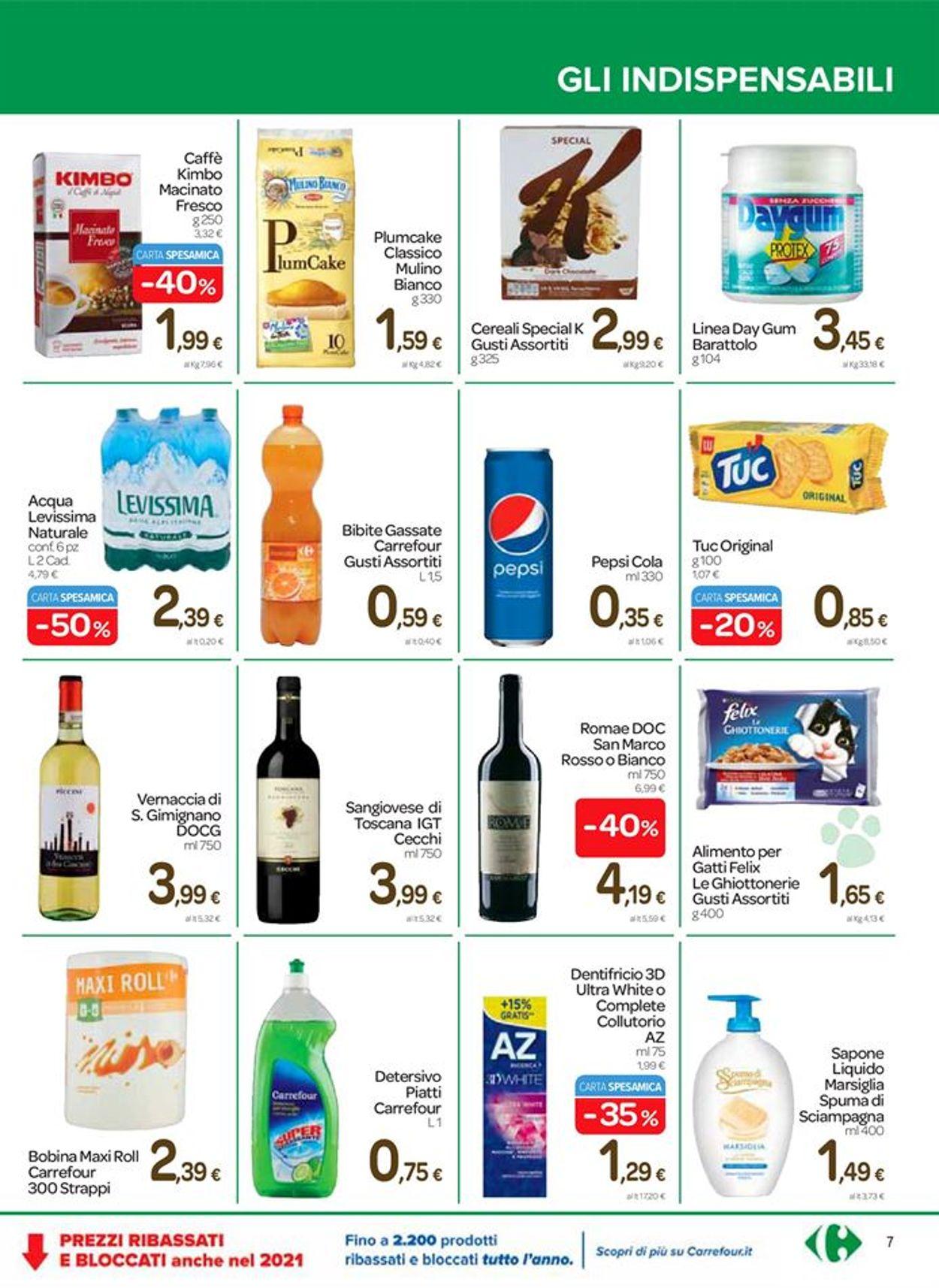 Volantino Carrefour Express - Offerte 21/01-02/02/2021 (Pagina 7)