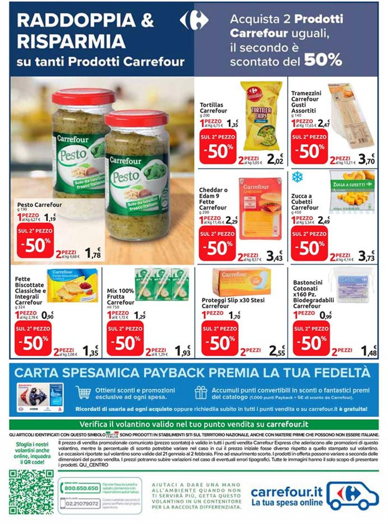 Volantino Carrefour Express - Offerte 21/01-02/02/2021 (Pagina 9)