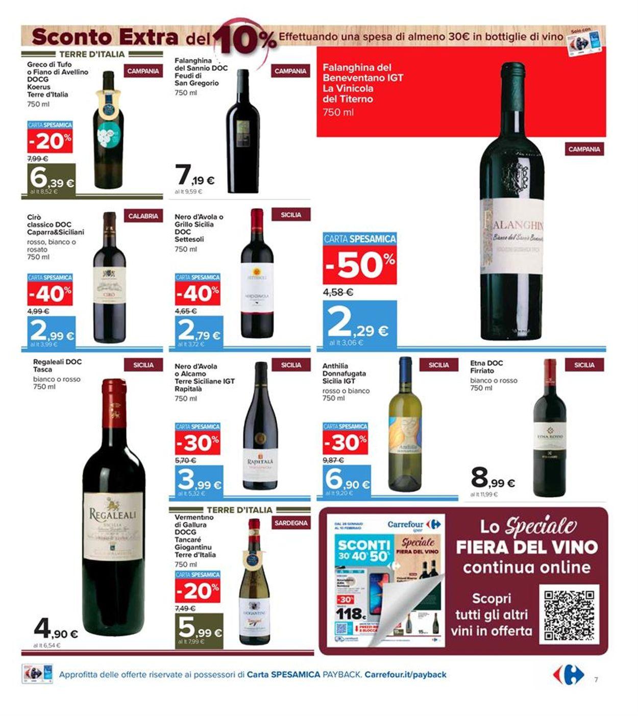 Volantino Carrefour Iper - Offerte 28/01-10/02/2021 (Pagina 7)