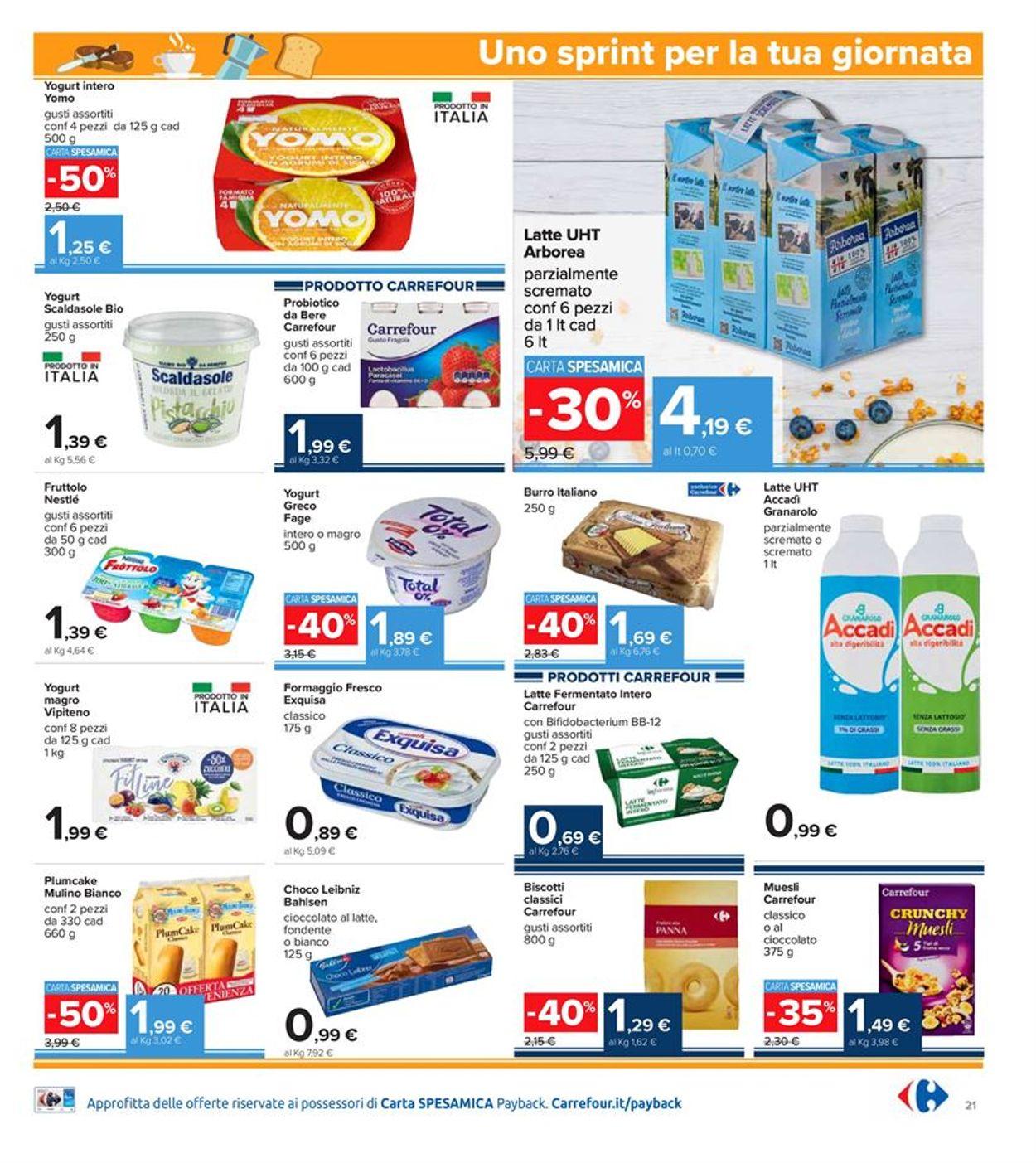 Volantino Carrefour Iper - Offerte 28/01-10/02/2021 (Pagina 21)