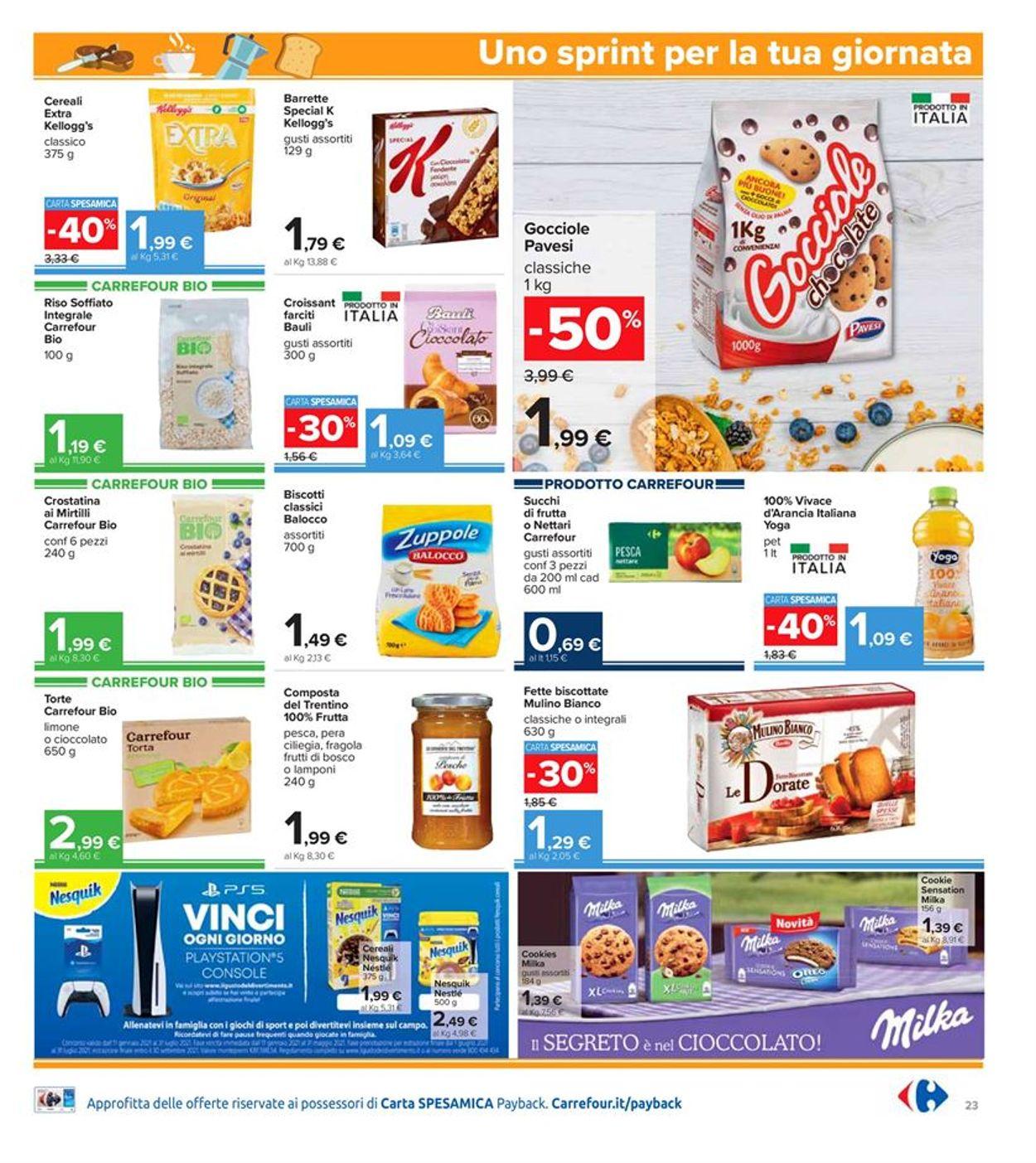 Volantino Carrefour Iper - Offerte 28/01-10/02/2021 (Pagina 23)