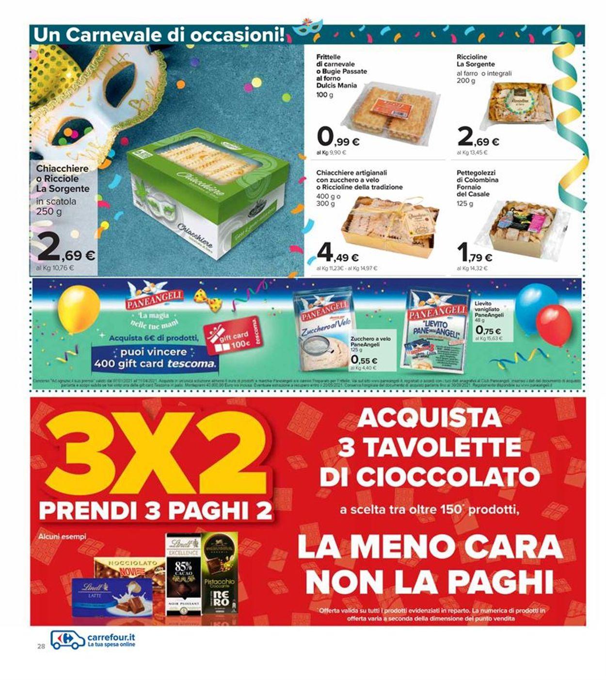 Volantino Carrefour Iper - Offerte 28/01-10/02/2021 (Pagina 28)