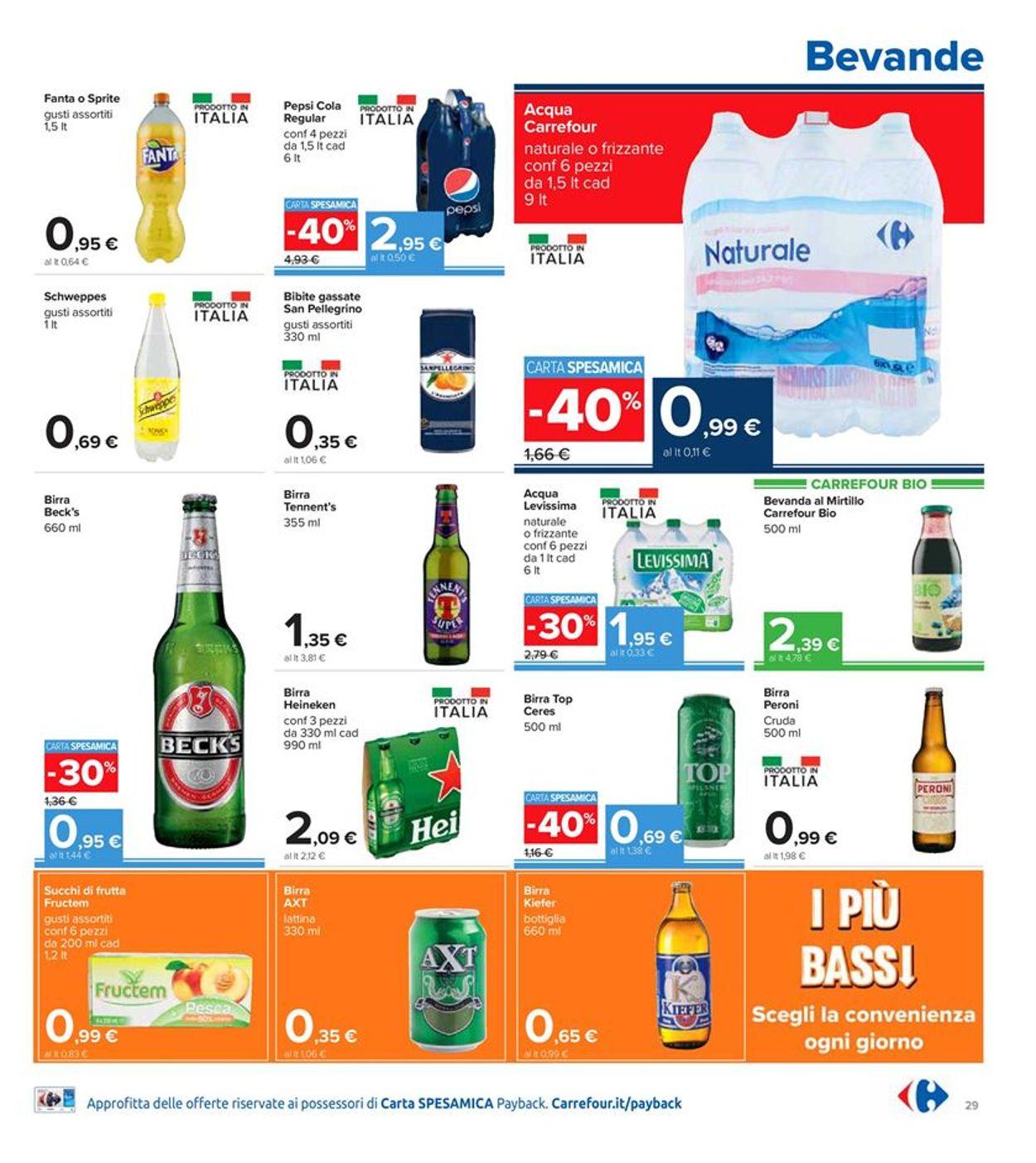 Volantino Carrefour Iper - Offerte 28/01-10/02/2021 (Pagina 29)
