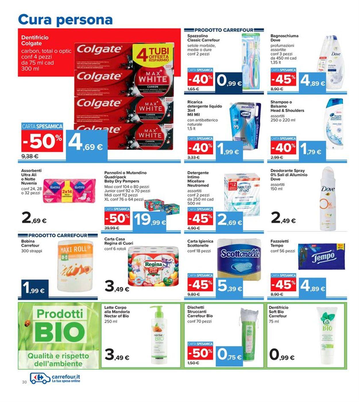 Volantino Carrefour Iper - Offerte 28/01-10/02/2021 (Pagina 30)