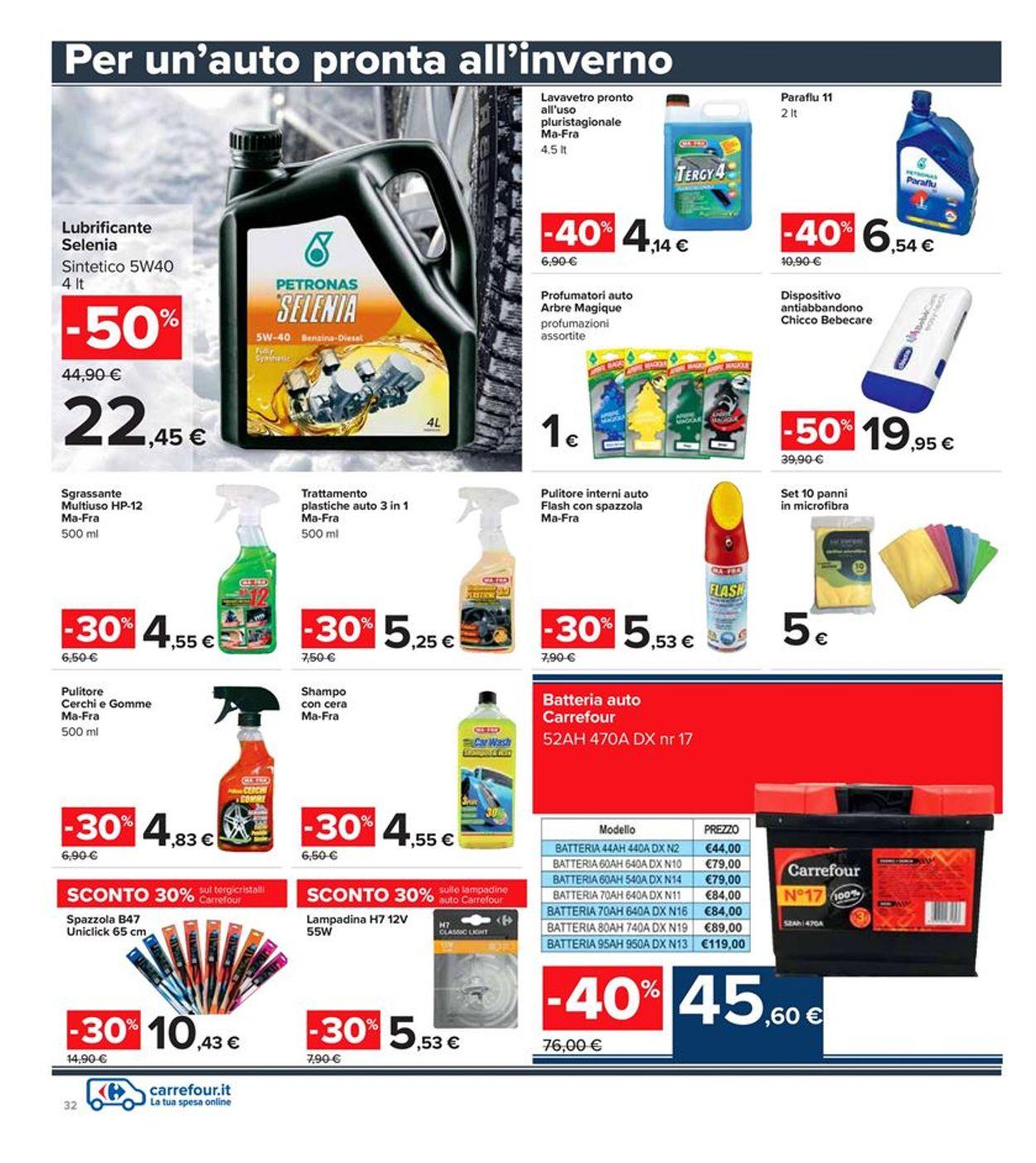 Volantino Carrefour Iper - Offerte 28/01-10/02/2021 (Pagina 32)