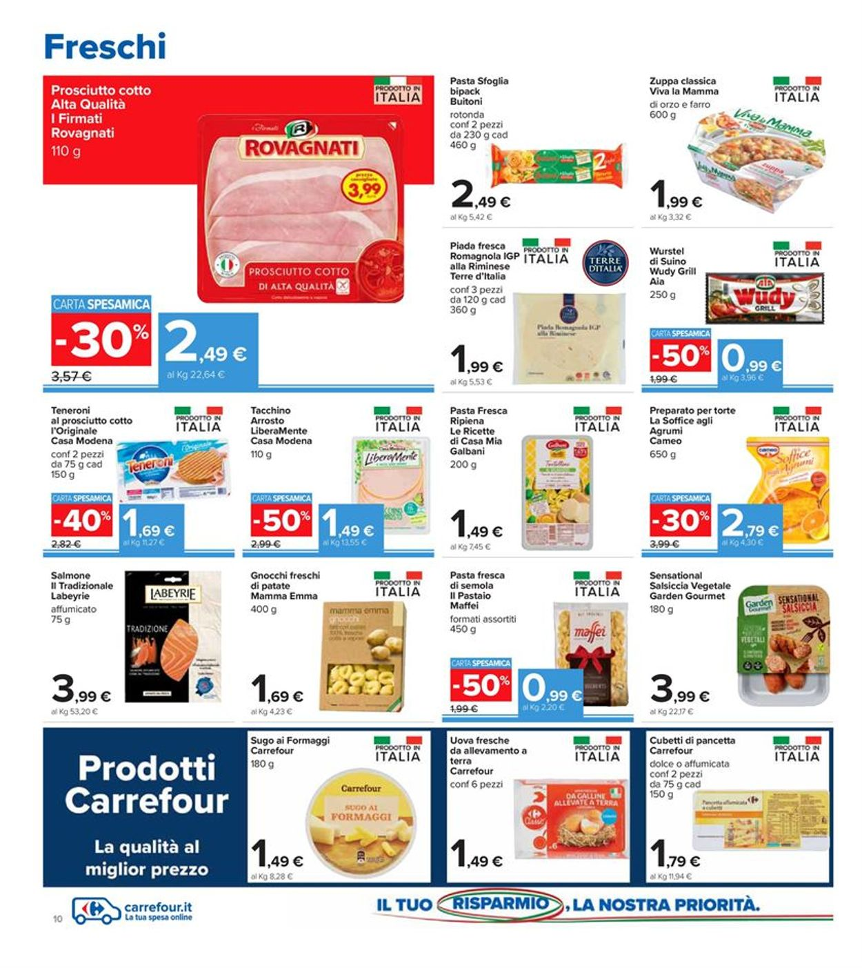 Volantino Carrefour Iper - Offerte 11/02-25/02/2021 (Pagina 10)