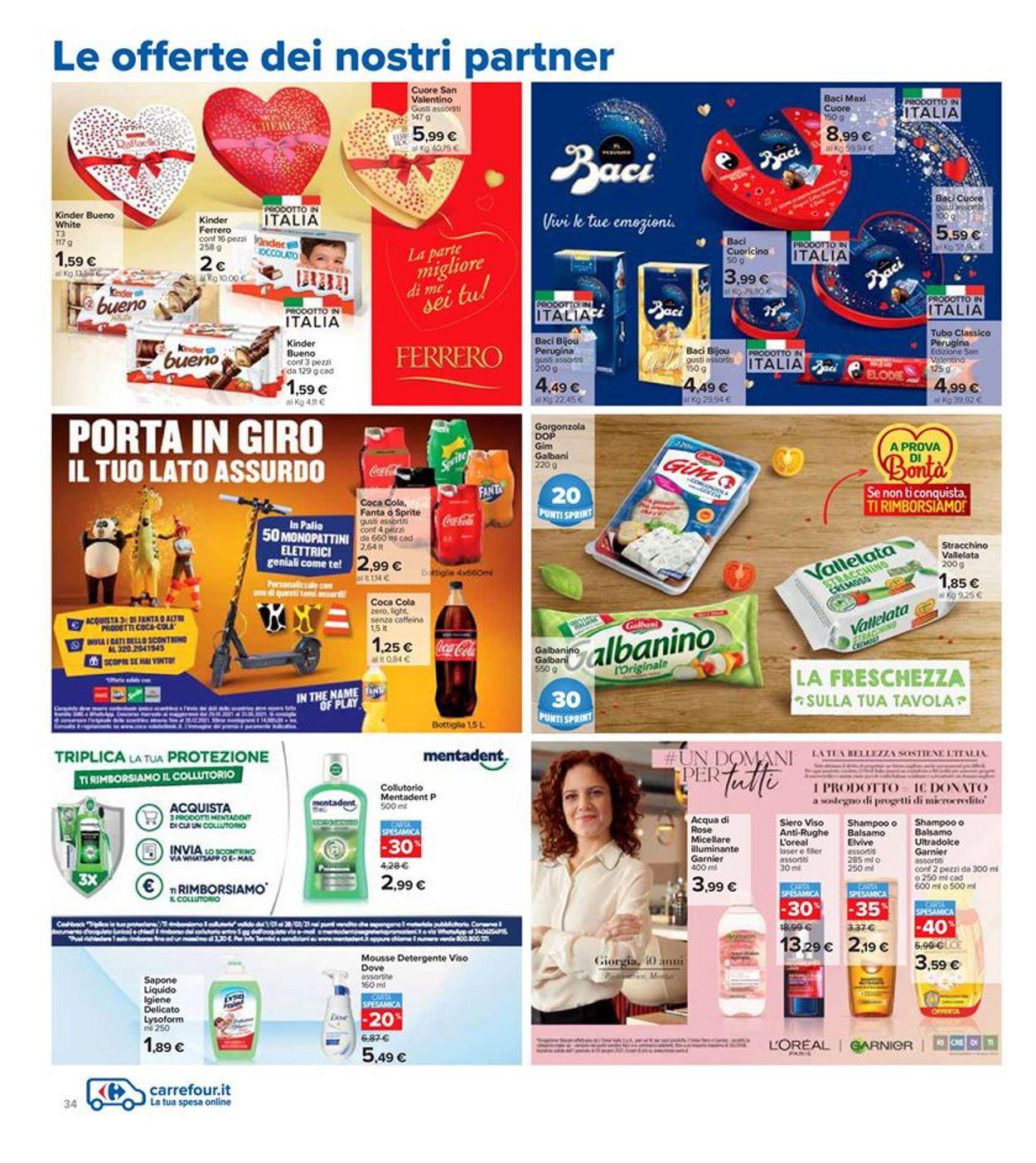 Volantino Carrefour Iper - Offerte 11/02-25/02/2021 (Pagina 34)