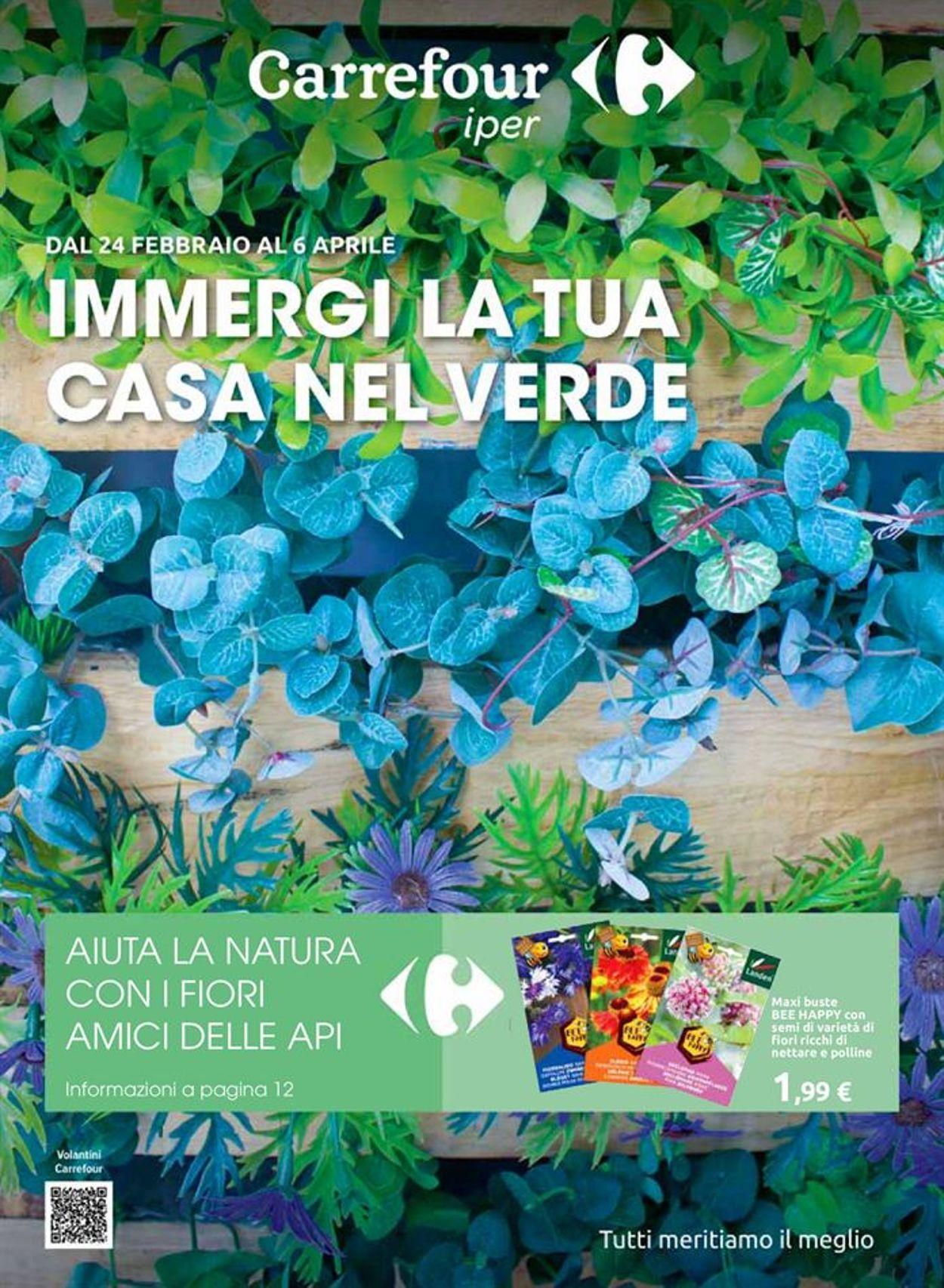 Volantino Carrefour - Offerte 24/02-06/04/2021