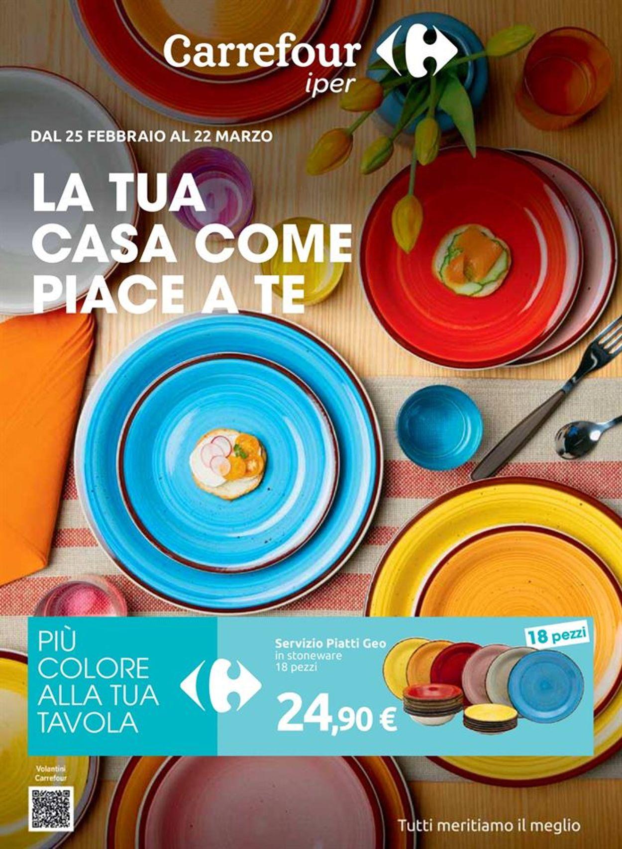 Volantino Carrefour - Offerte 25/02-22/03/2021