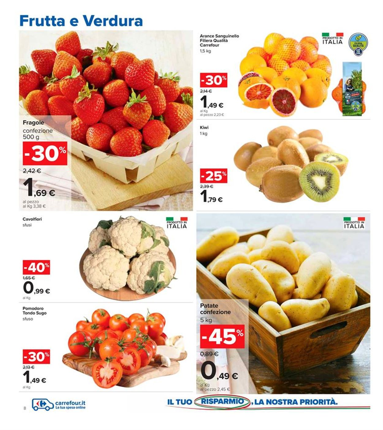 Volantino Carrefour - Offerte 26/02-07/03/2021 (Pagina 8)