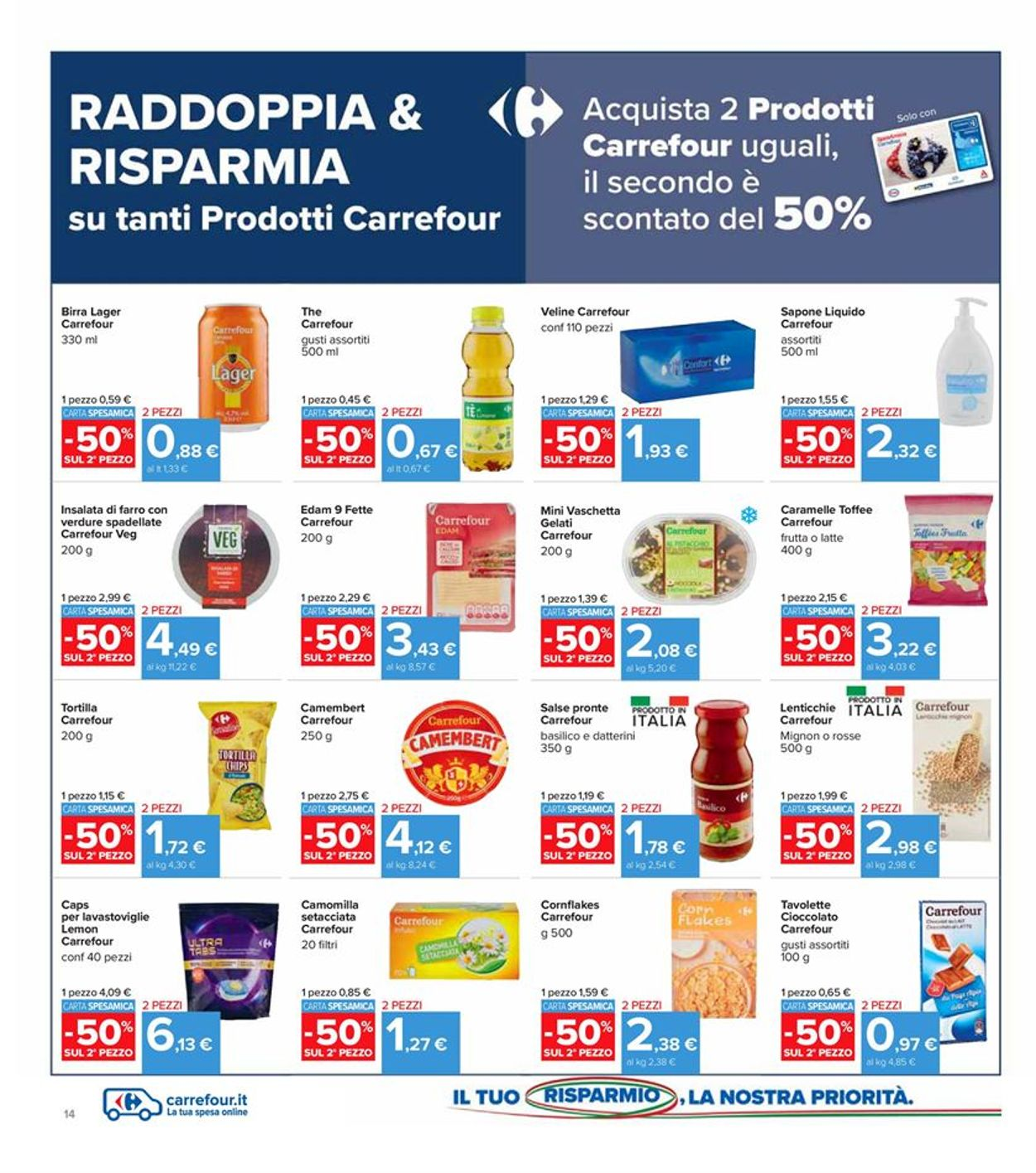 Volantino Carrefour - Offerte 26/02-07/03/2021 (Pagina 14)