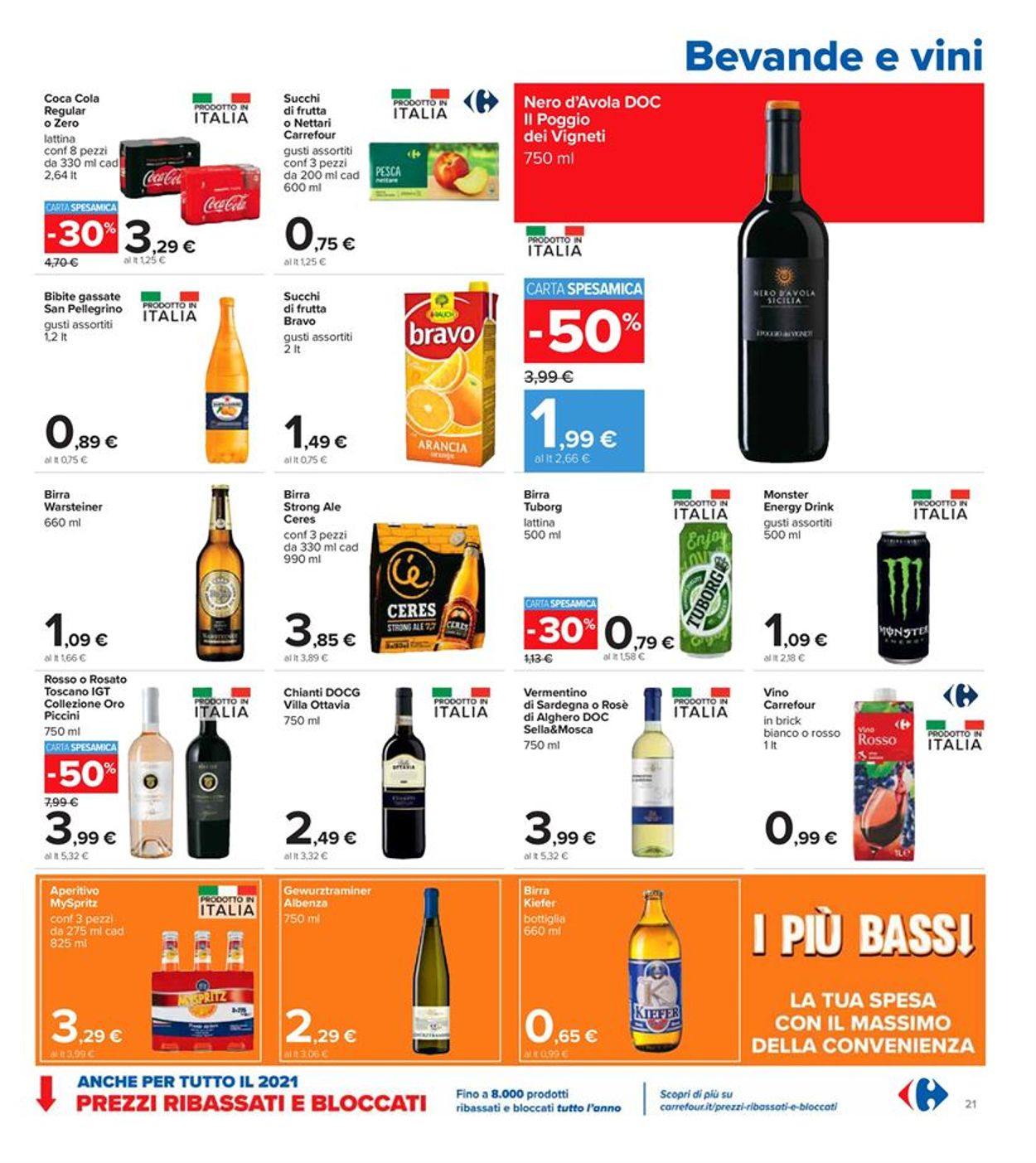 Volantino Carrefour - Offerte 26/02-07/03/2021 (Pagina 21)