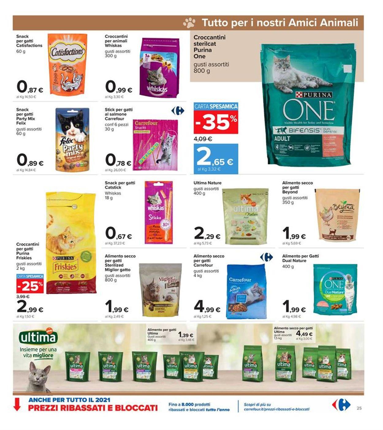 Volantino Carrefour - Offerte 26/02-07/03/2021 (Pagina 25)