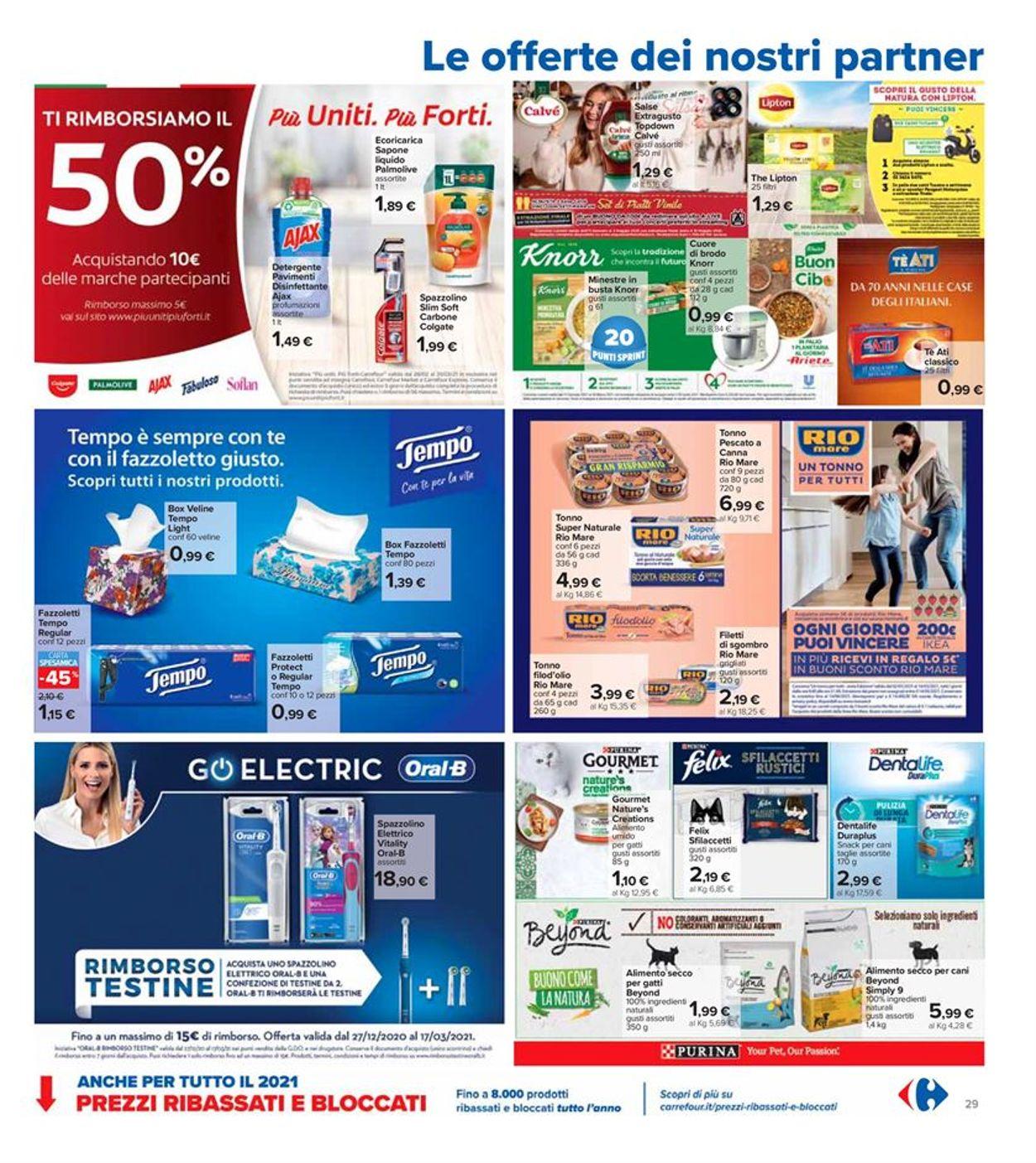Volantino Carrefour - Offerte 26/02-07/03/2021 (Pagina 29)
